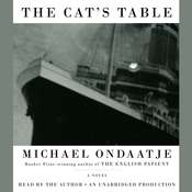 The Cats Table Audiobook, by Michael Ondaatje