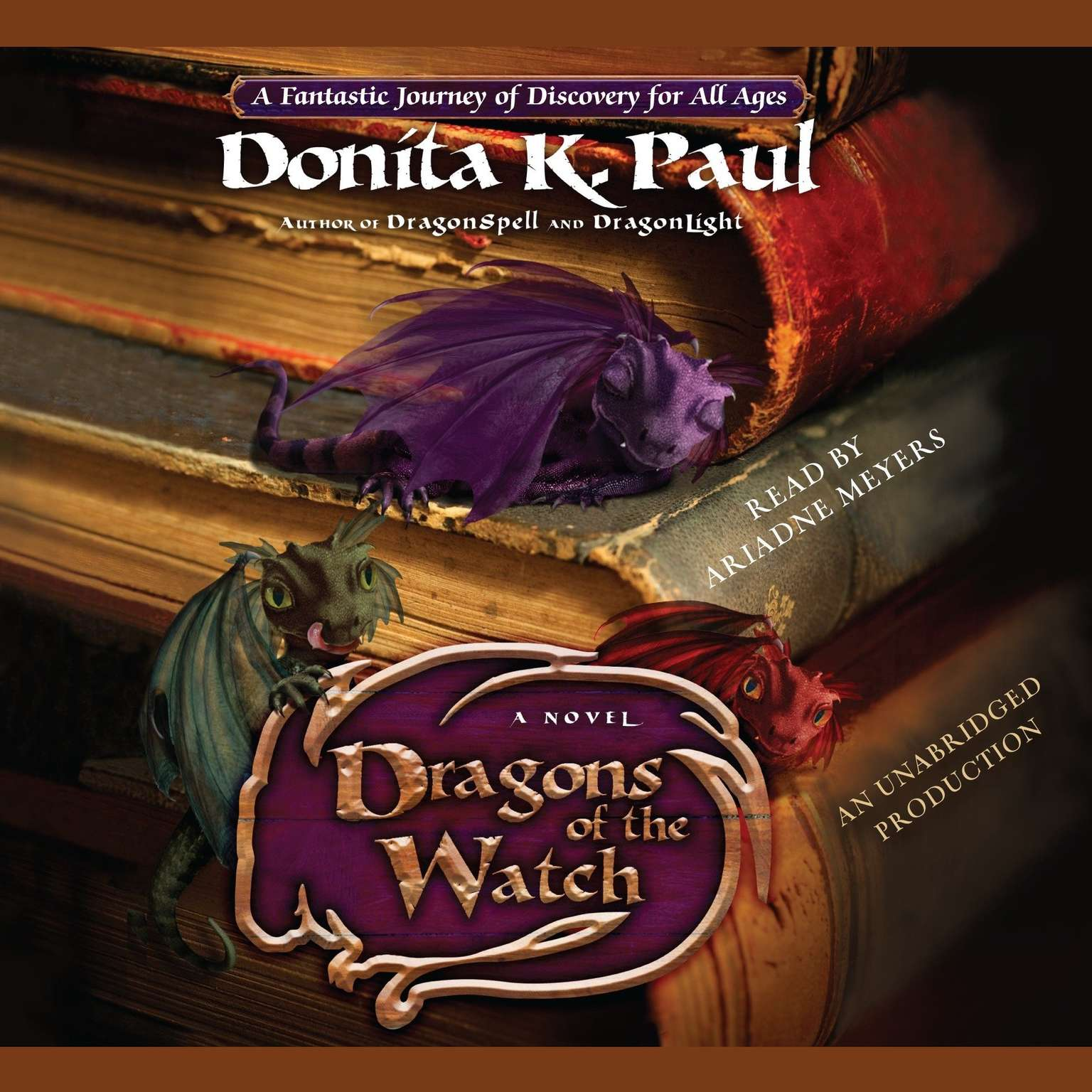 Printable Dragons of the Watch: A Novel Audiobook Cover Art