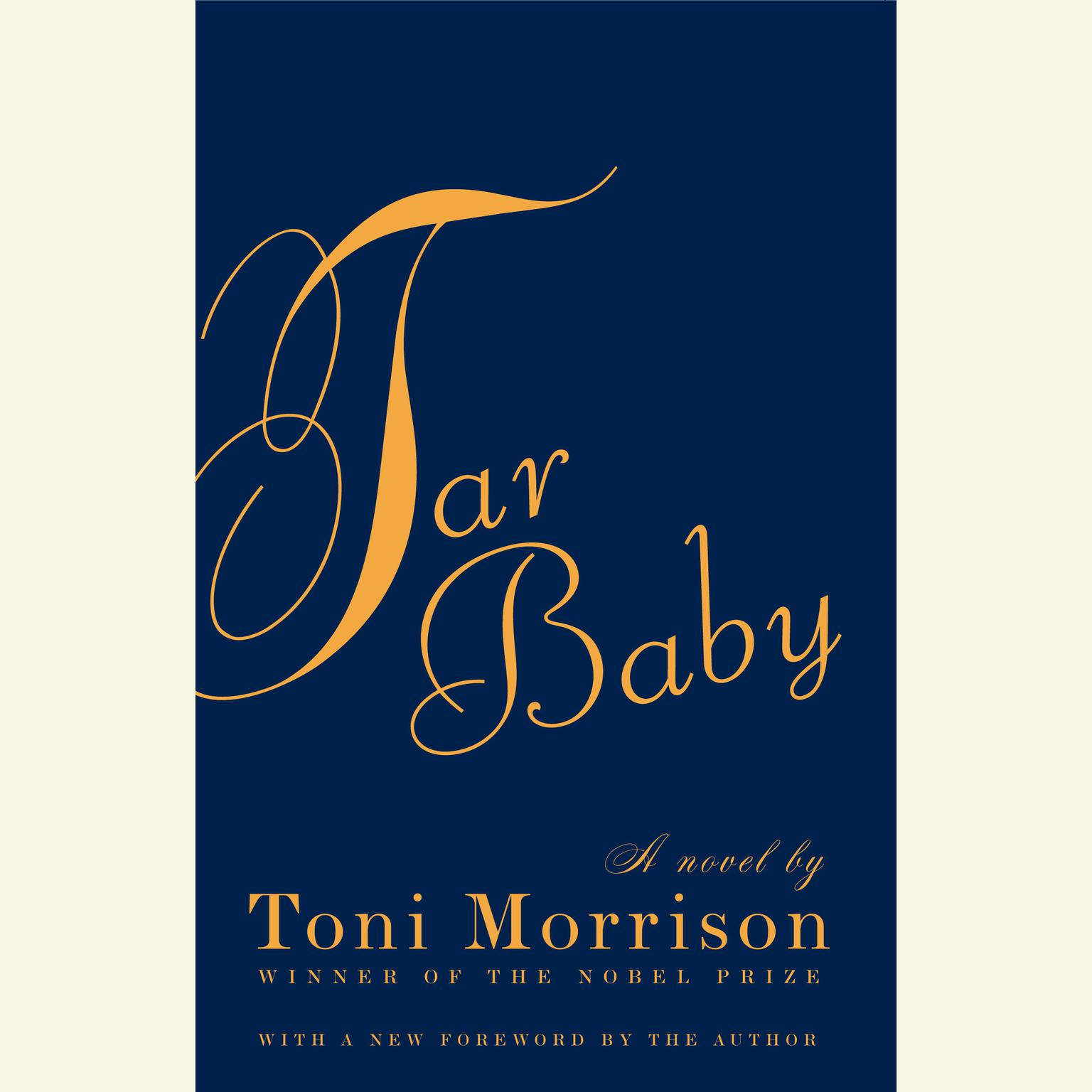 Printable Tar Baby Audiobook Cover Art