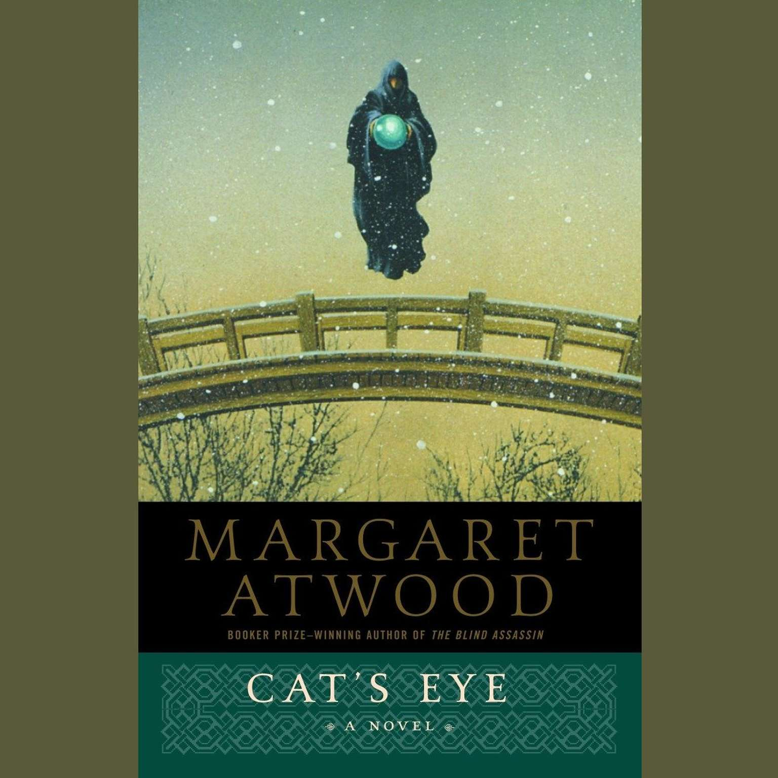 Printable Cat's Eye Audiobook Cover Art
