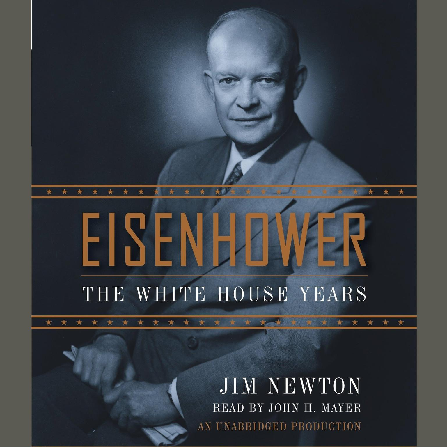 Printable Eisenhower: The White House Years Audiobook Cover Art