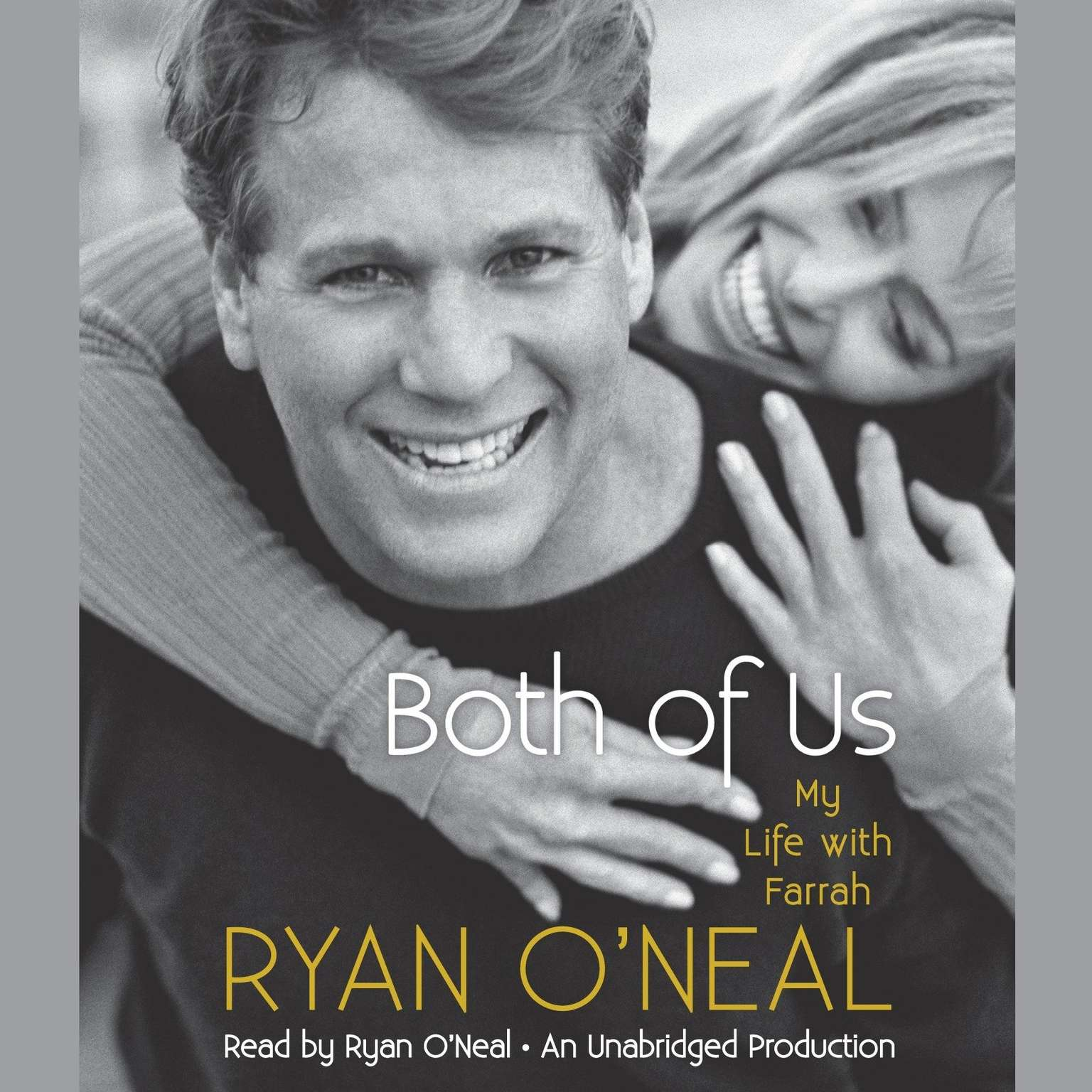 Printable Both of Us: My Life with Farrah Audiobook Cover Art