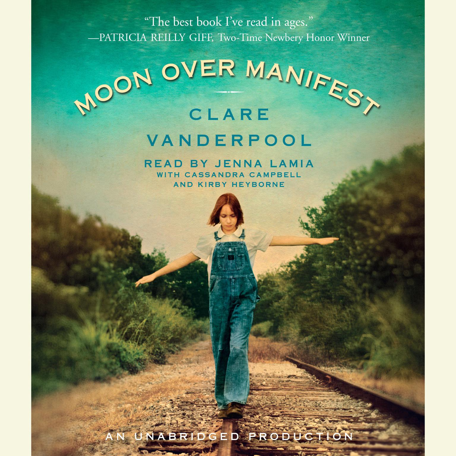 Printable Moon Over Manifest Audiobook Cover Art
