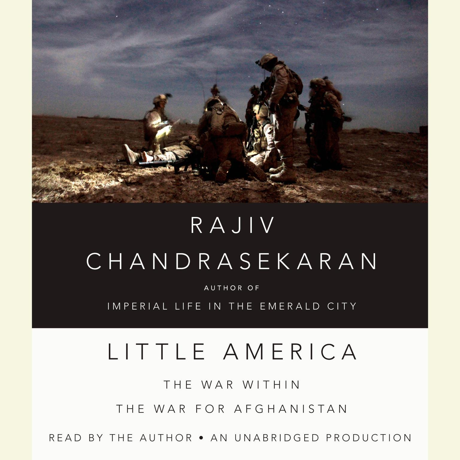 Printable Little America: The War Within the War for Afghanistan Audiobook Cover Art