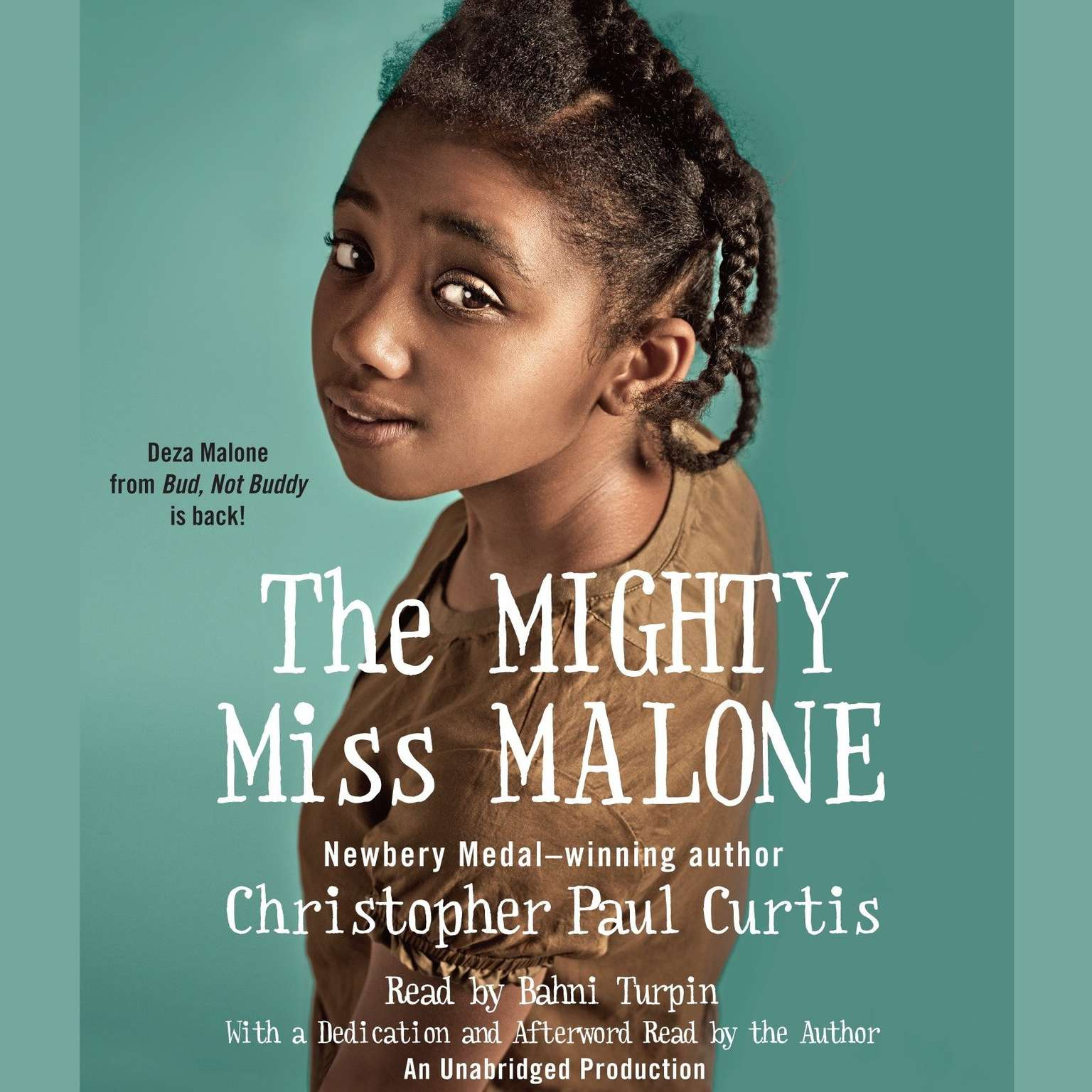 Printable The Mighty Miss Malone Audiobook Cover Art