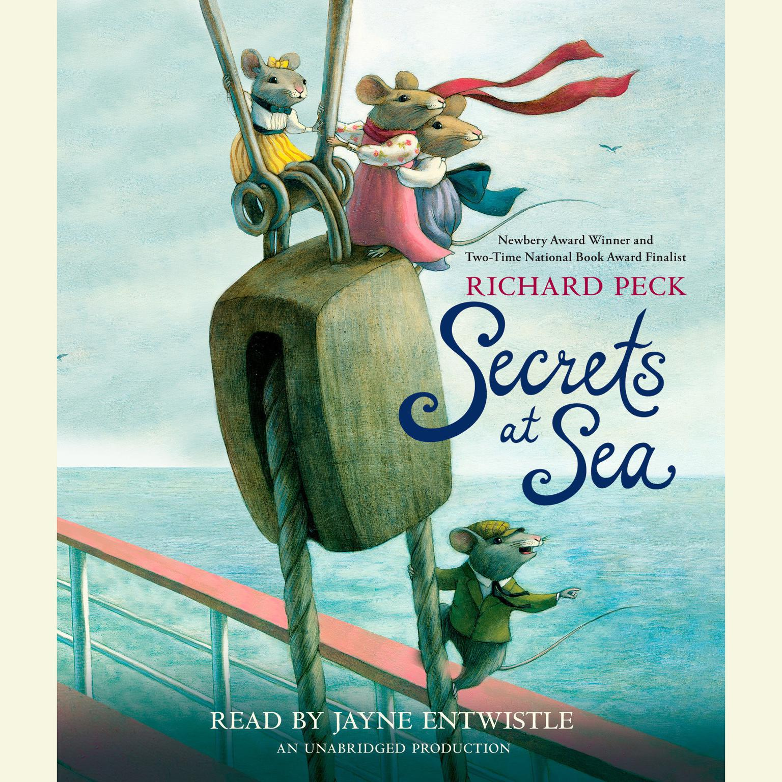 Printable Secrets at Sea Audiobook Cover Art