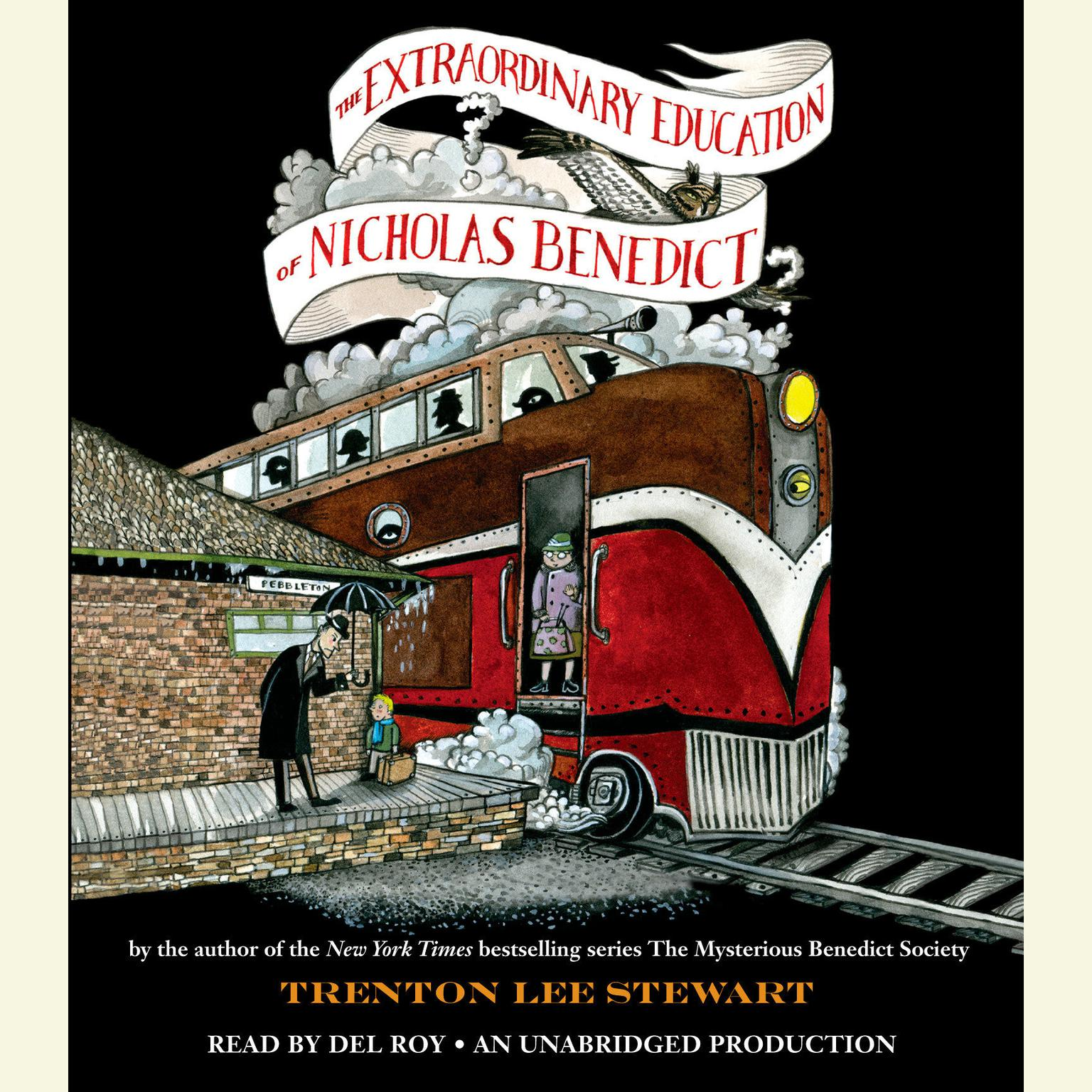 Printable The Extraordinary Education of Nicholas Benedict Audiobook Cover Art