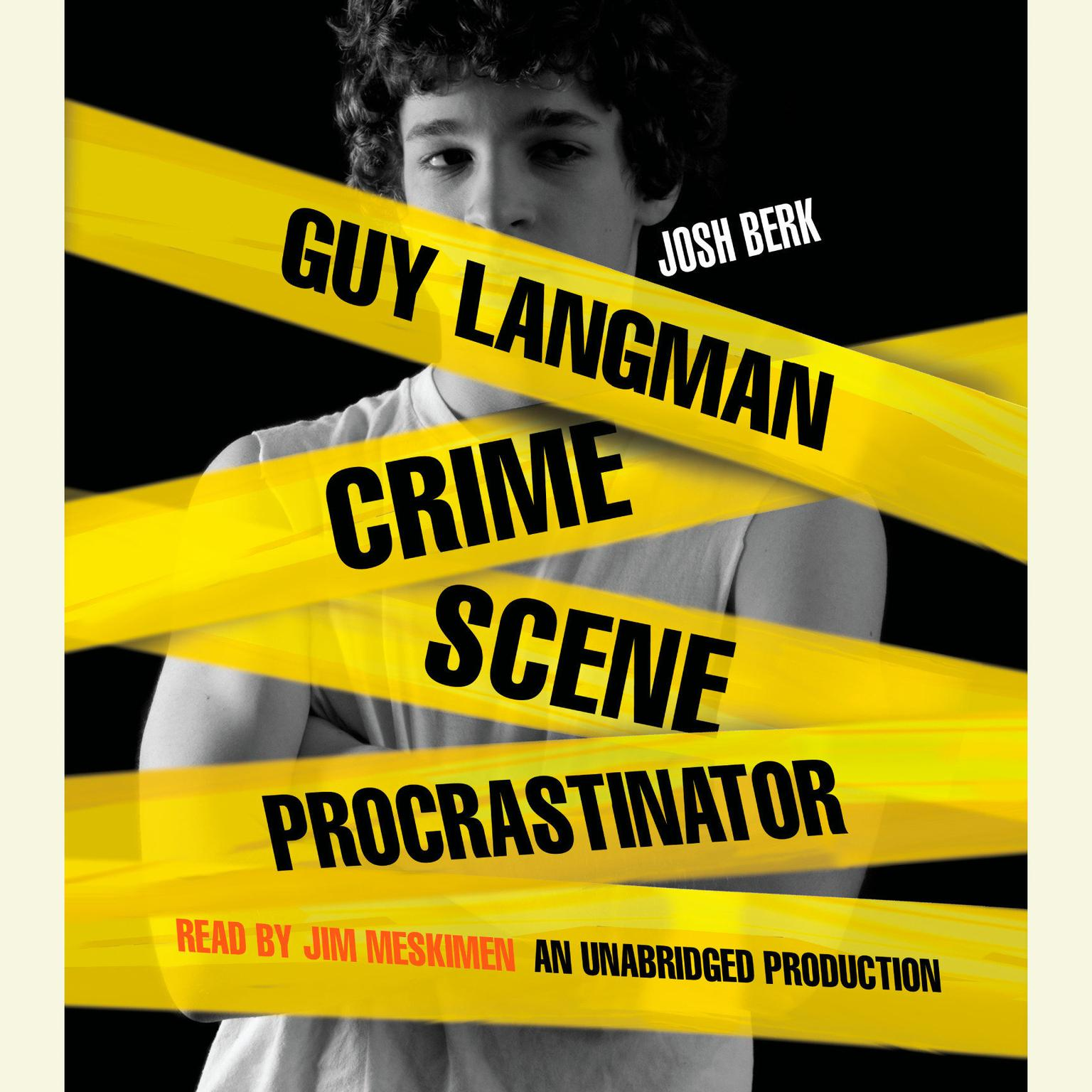 Printable Guy Langman, Crime Scene Procrastinator Audiobook Cover Art