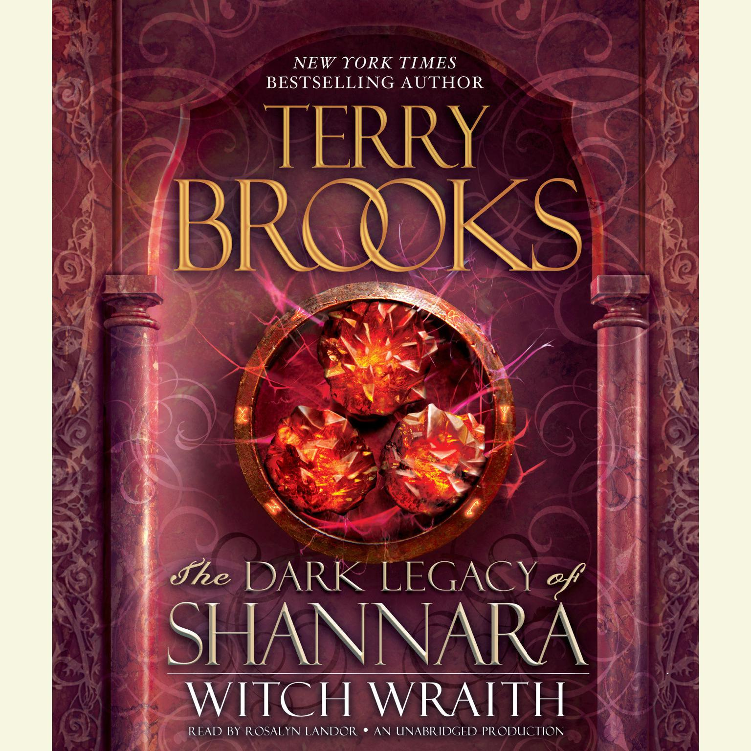 Printable Witch Wraith: The Dark Legacy of Shannara Audiobook Cover Art