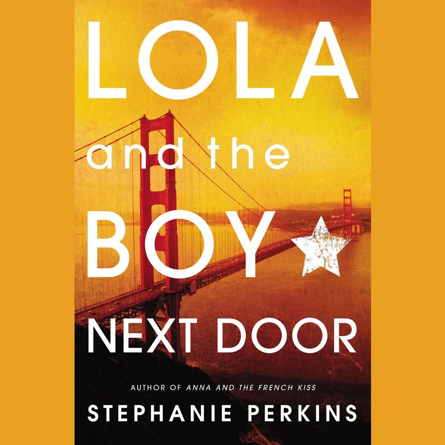 Printable Lola and the Boy Next Door Audiobook Cover Art