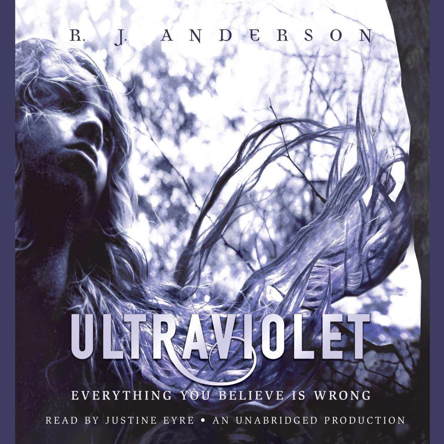 Printable Ultraviolet Audiobook Cover Art