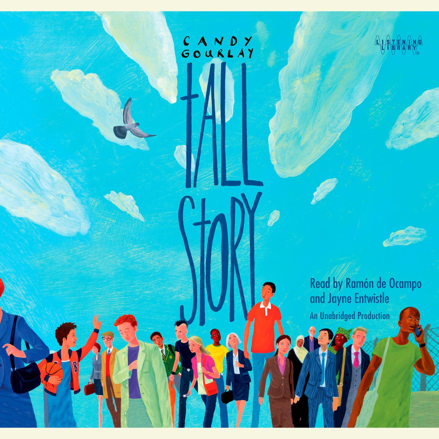 Printable Tall Story Audiobook Cover Art