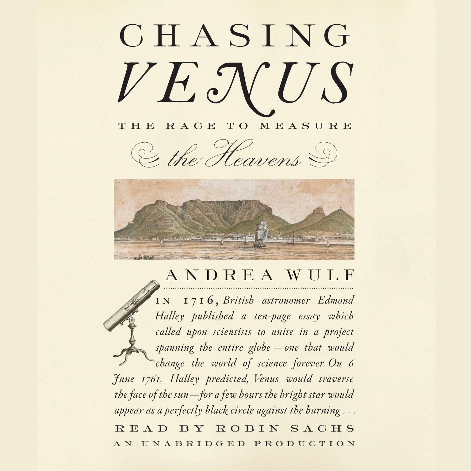 Printable Chasing Venus: The Race to Measure the Heavens Audiobook Cover Art