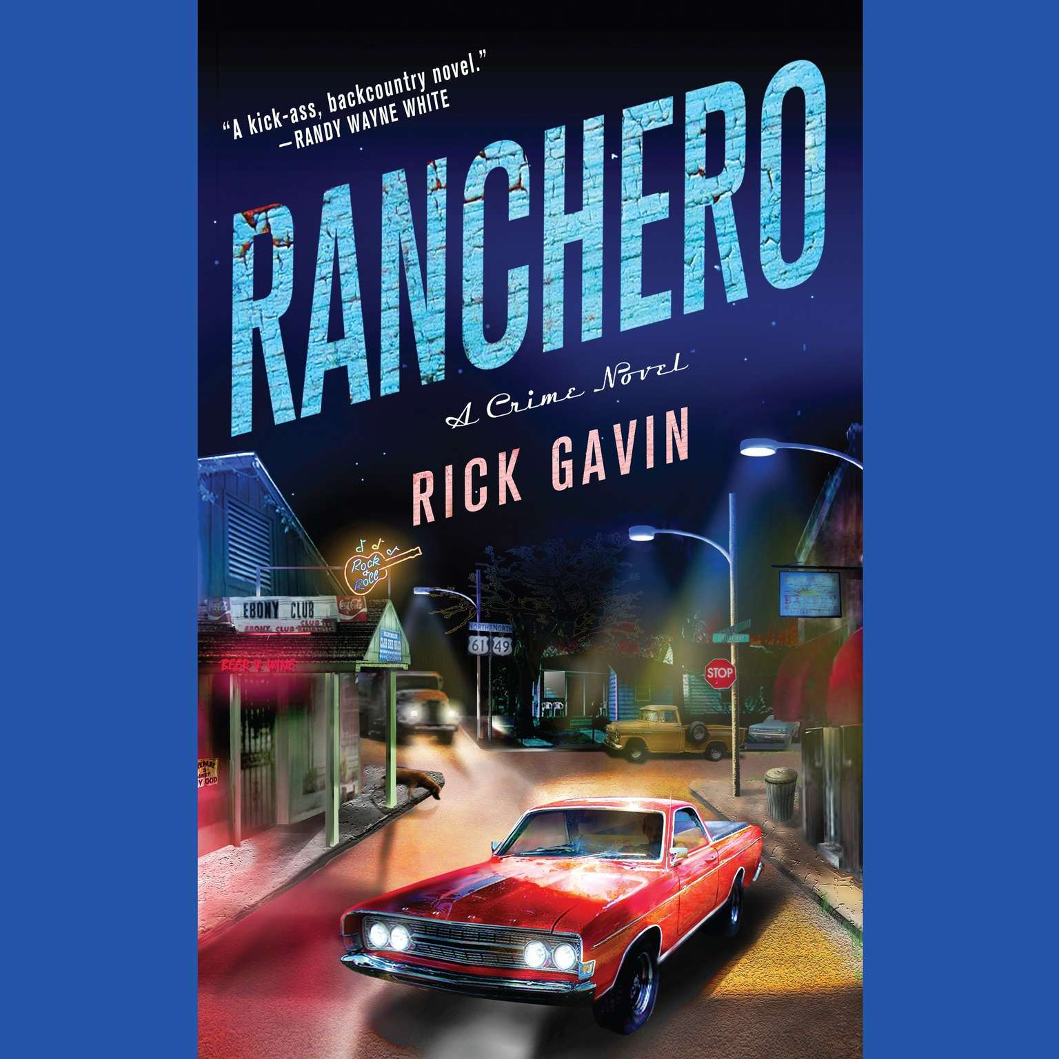 Printable Ranchero: A Mystery Audiobook Cover Art