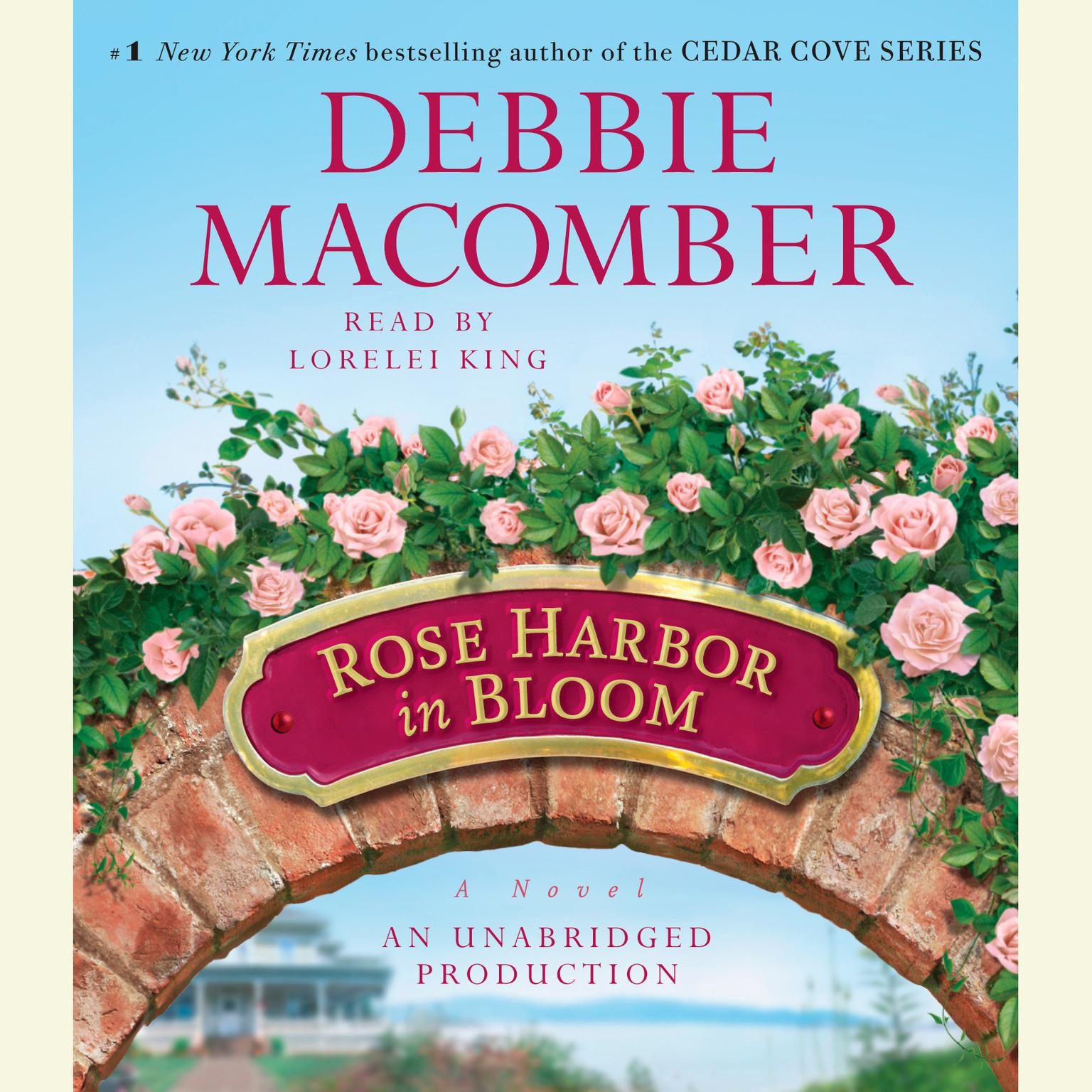Printable Rose Harbor in Bloom: A Novel Audiobook Cover Art