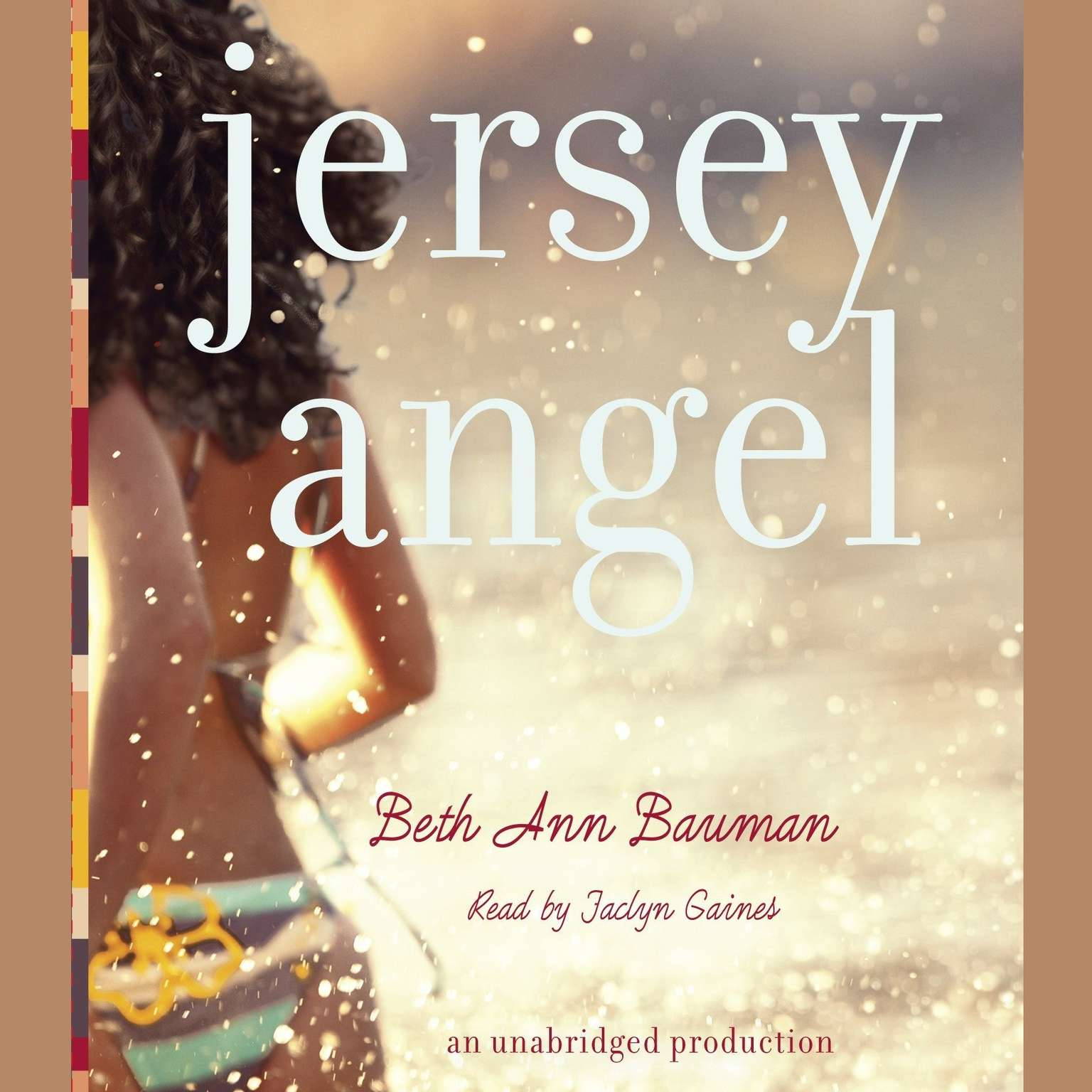 Printable Jersey Angel Audiobook Cover Art