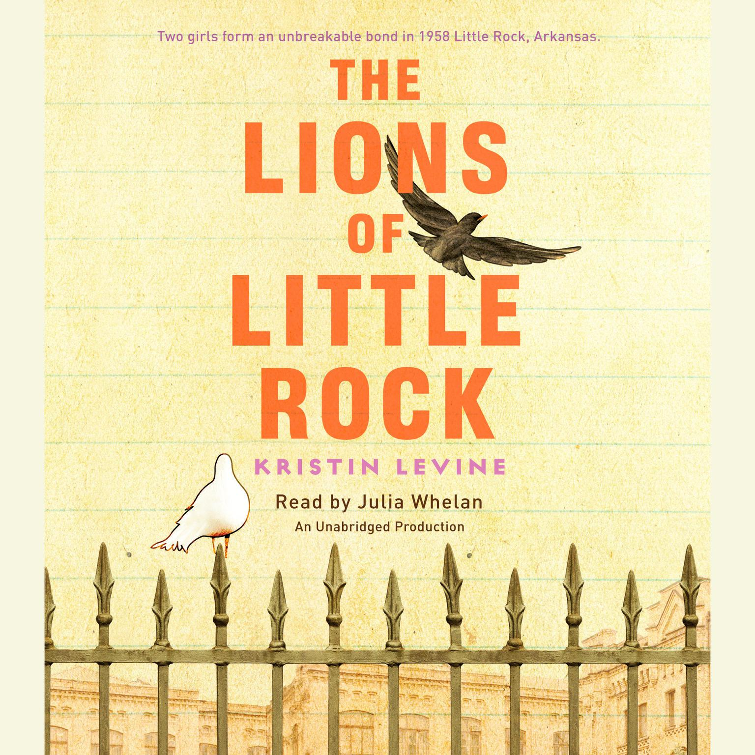 Printable The Lions of Little Rock Audiobook Cover Art
