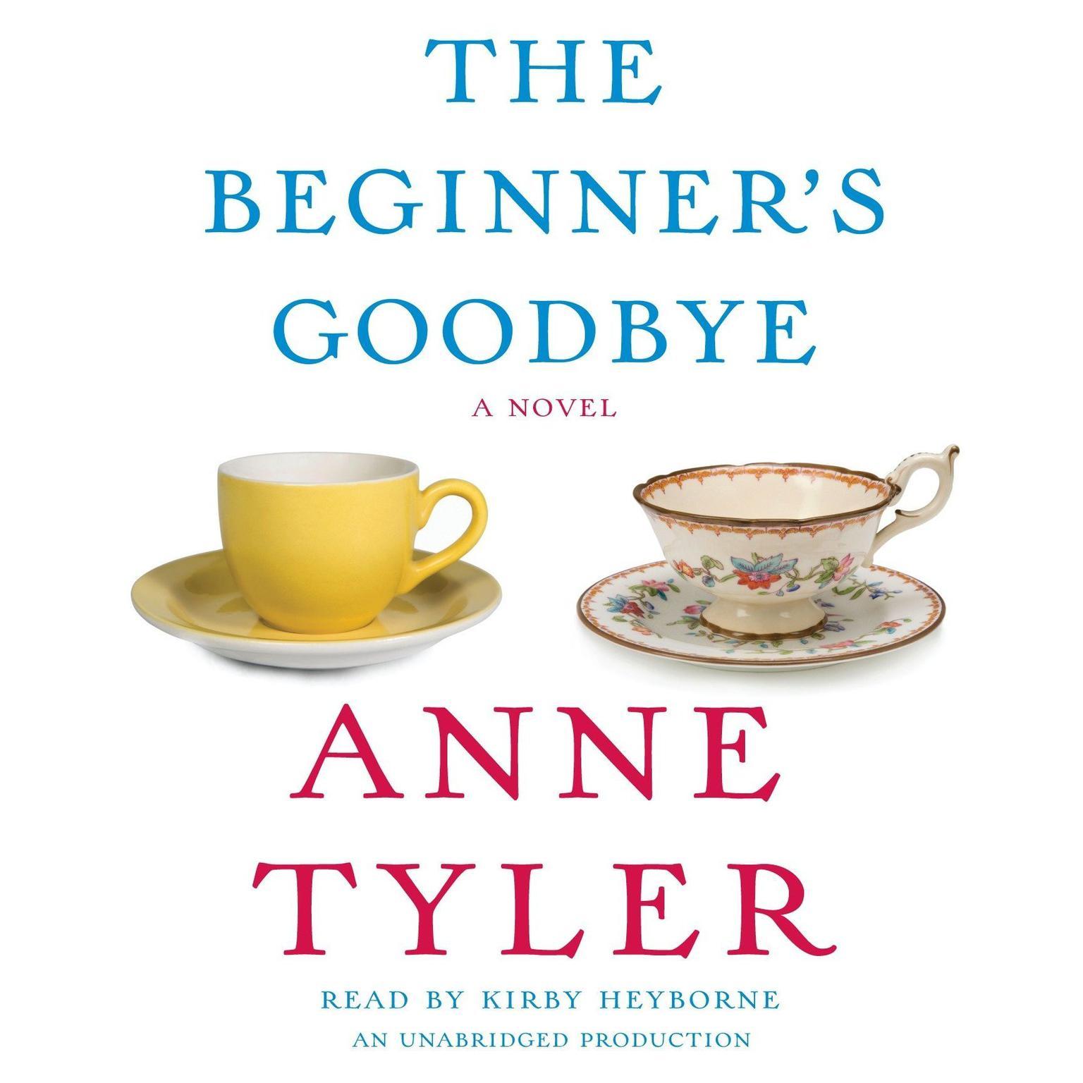 Printable The Beginner's Goodbye Audiobook Cover Art