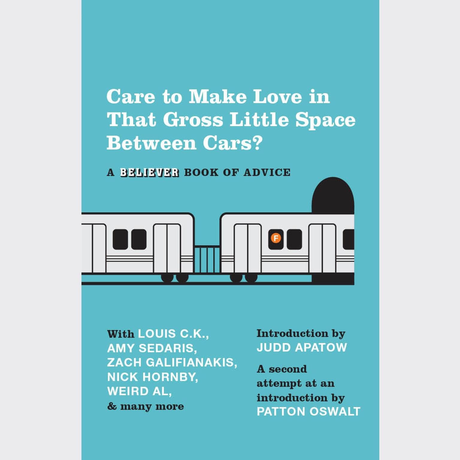 Printable Care To Make Love In That Gross Little Space Between Cars?: A Believer Book of Advice Audiobook Cover Art
