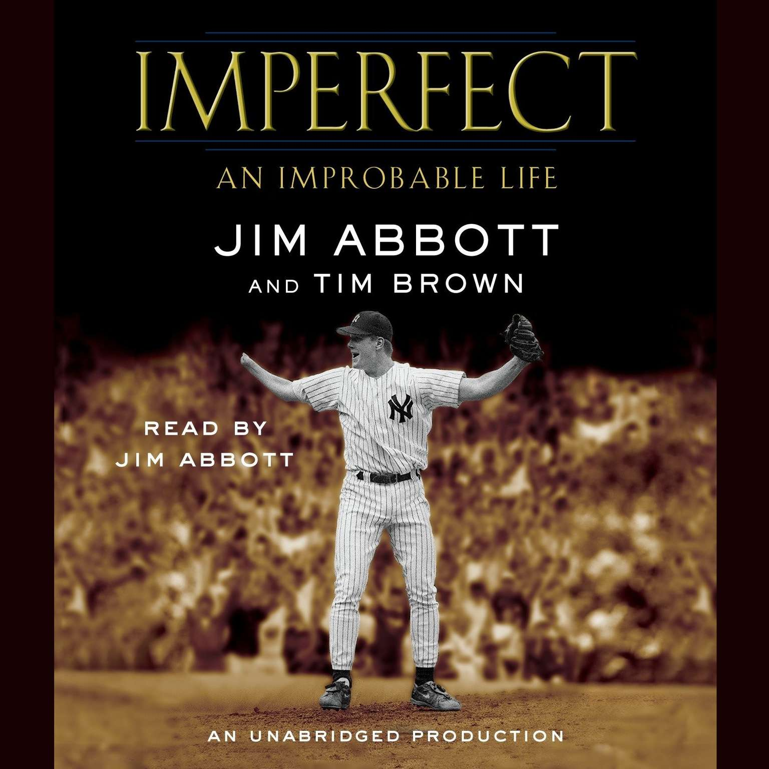 Printable Imperfect: An Improbable Life Audiobook Cover Art