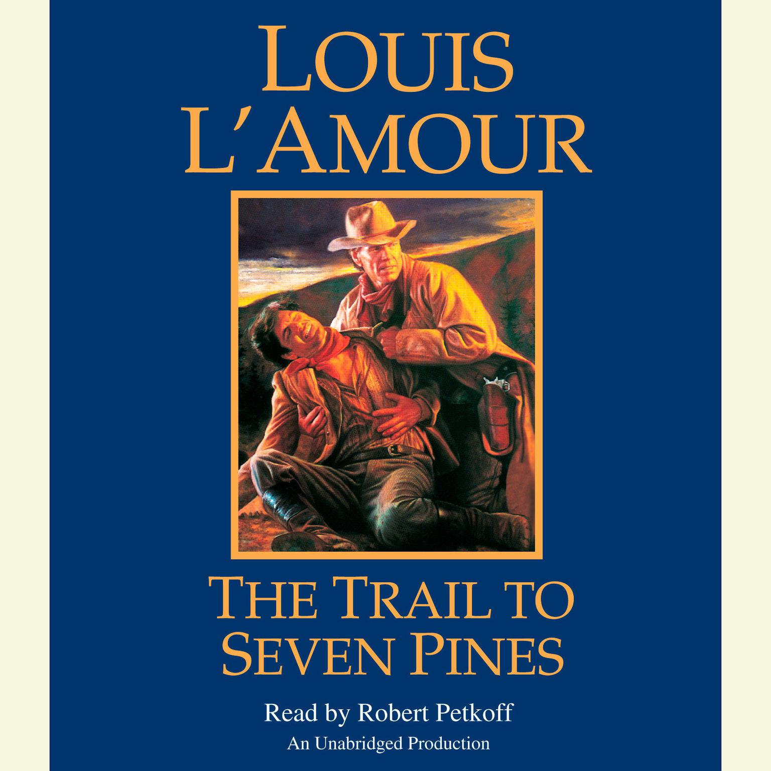 Printable The Trail to Seven Pines Audiobook Cover Art