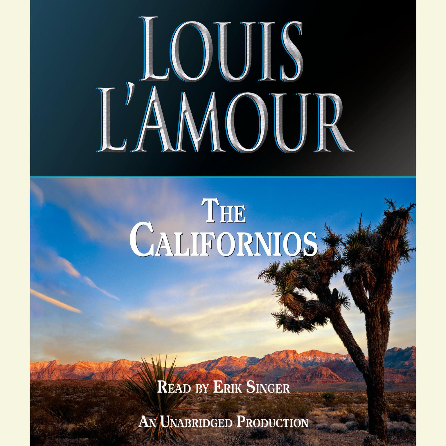 Printable The Californios Audiobook Cover Art