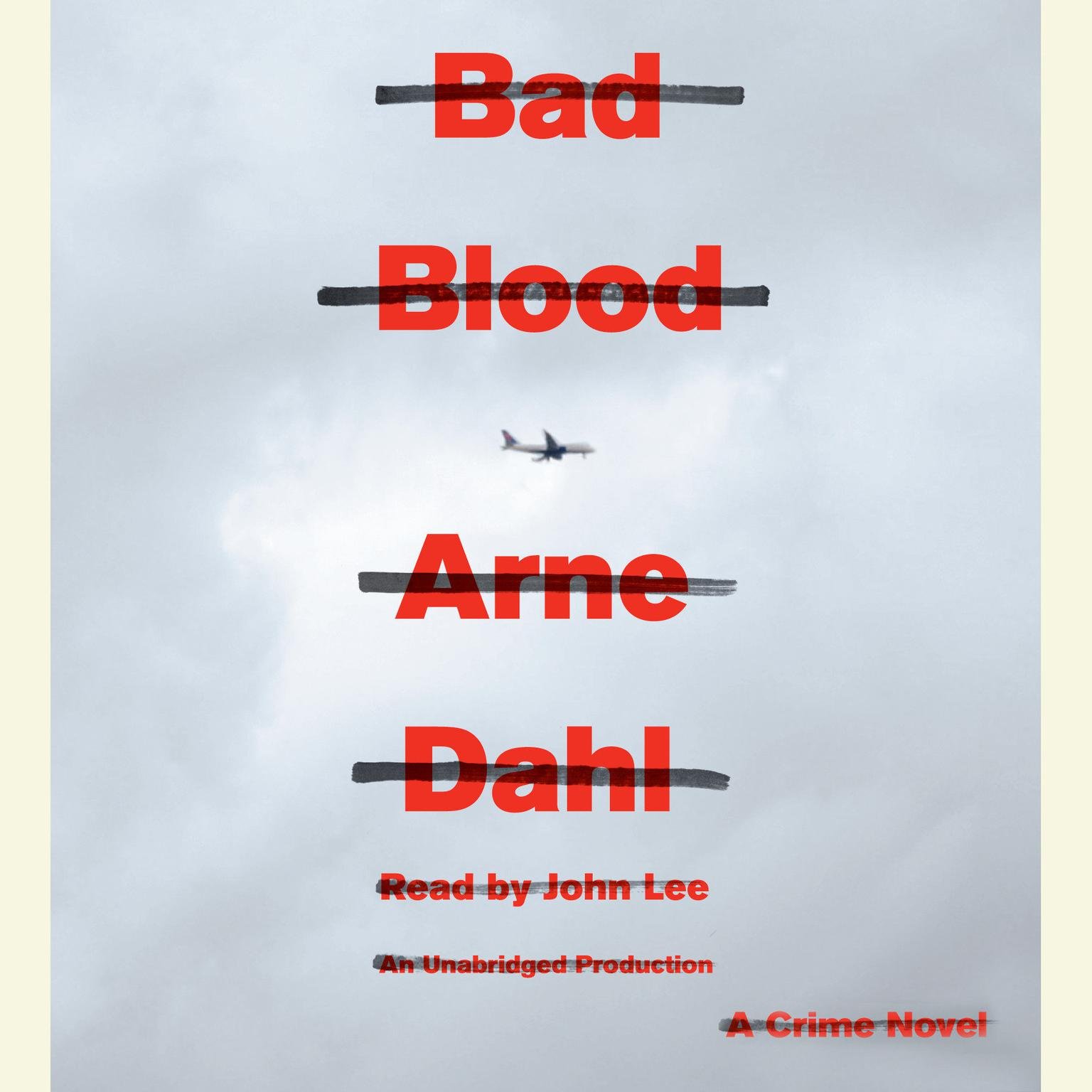 Printable Bad Blood: A Crime Novel Audiobook Cover Art