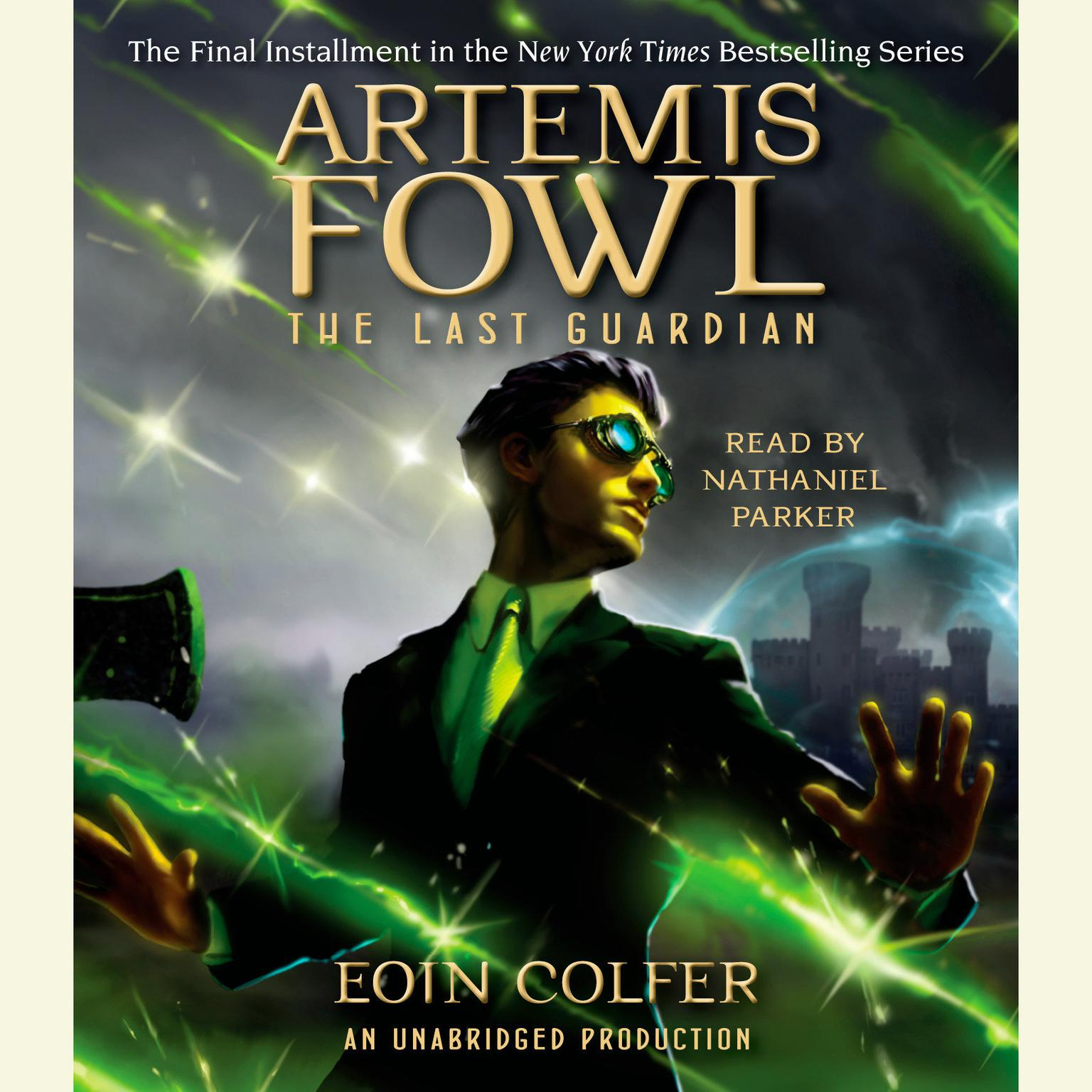 Printable Artemis Fowl 8: The Last Guardian Audiobook Cover Art