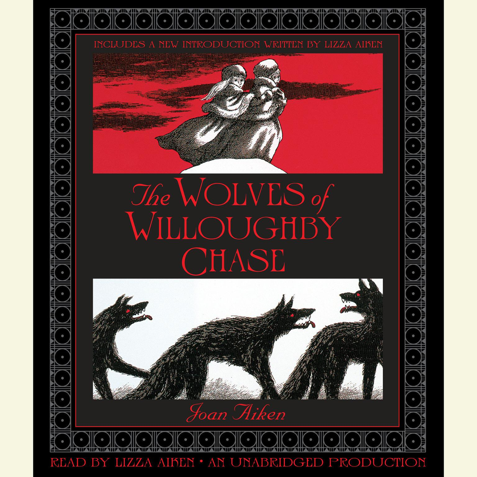 Printable The Wolves of Willoughby Chase Audiobook Cover Art