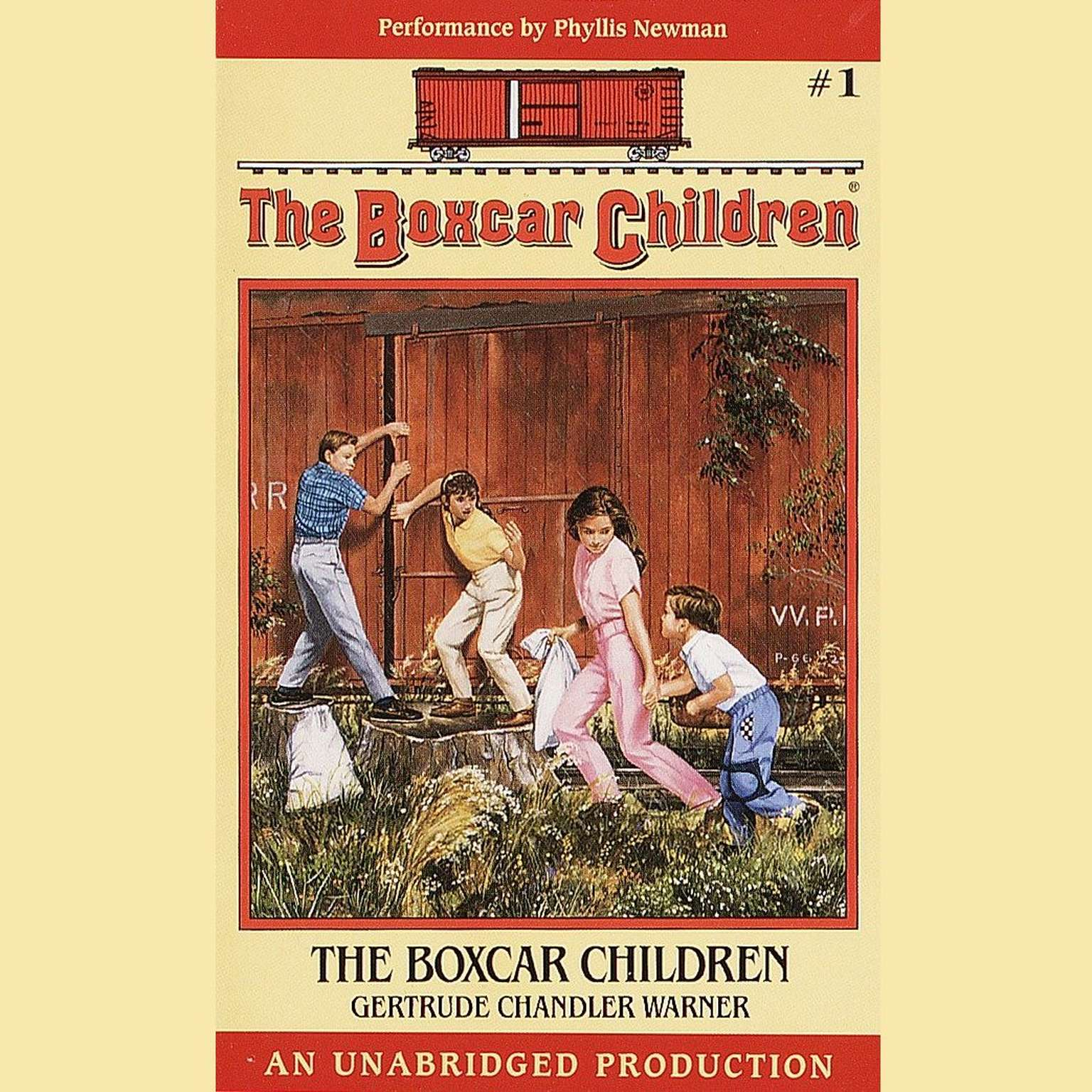 Printable The Boxcar Children: The Boxcar Children Mysteries #1 Audiobook Cover Art
