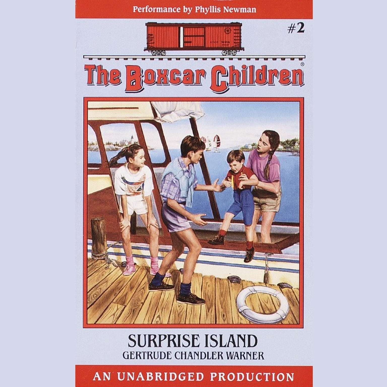 Printable Surprise Island: The Boxcar Children Mysteries #2 Audiobook Cover Art