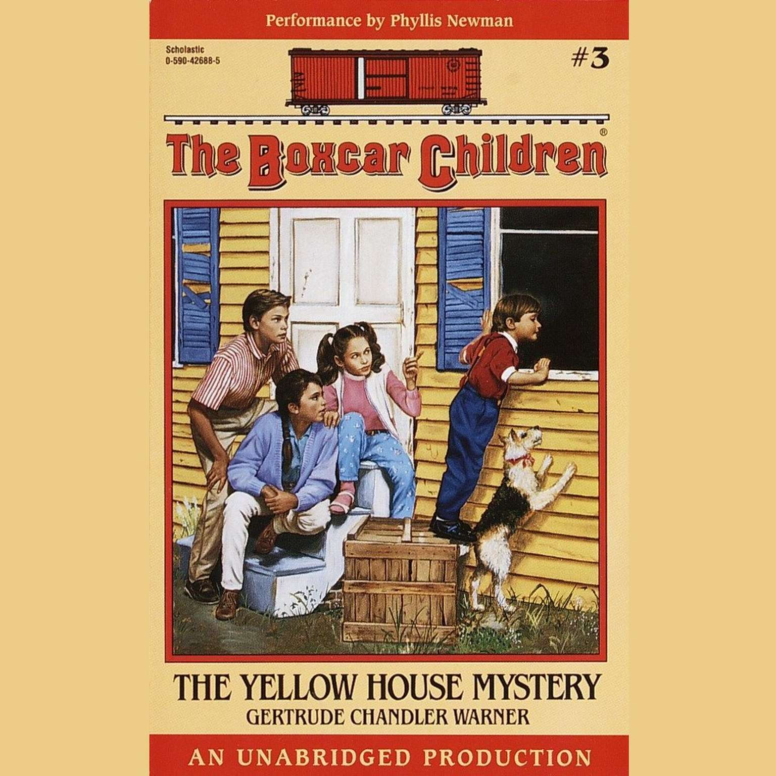 Printable The Yellow House Mystery Audiobook Cover Art