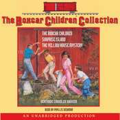 The Boxcar Children Collection: #1: The Boxcar Children; #2: Surprise Island; #3: The Yellow House Mystery Audiobook, by Gertrude Chandler Warner