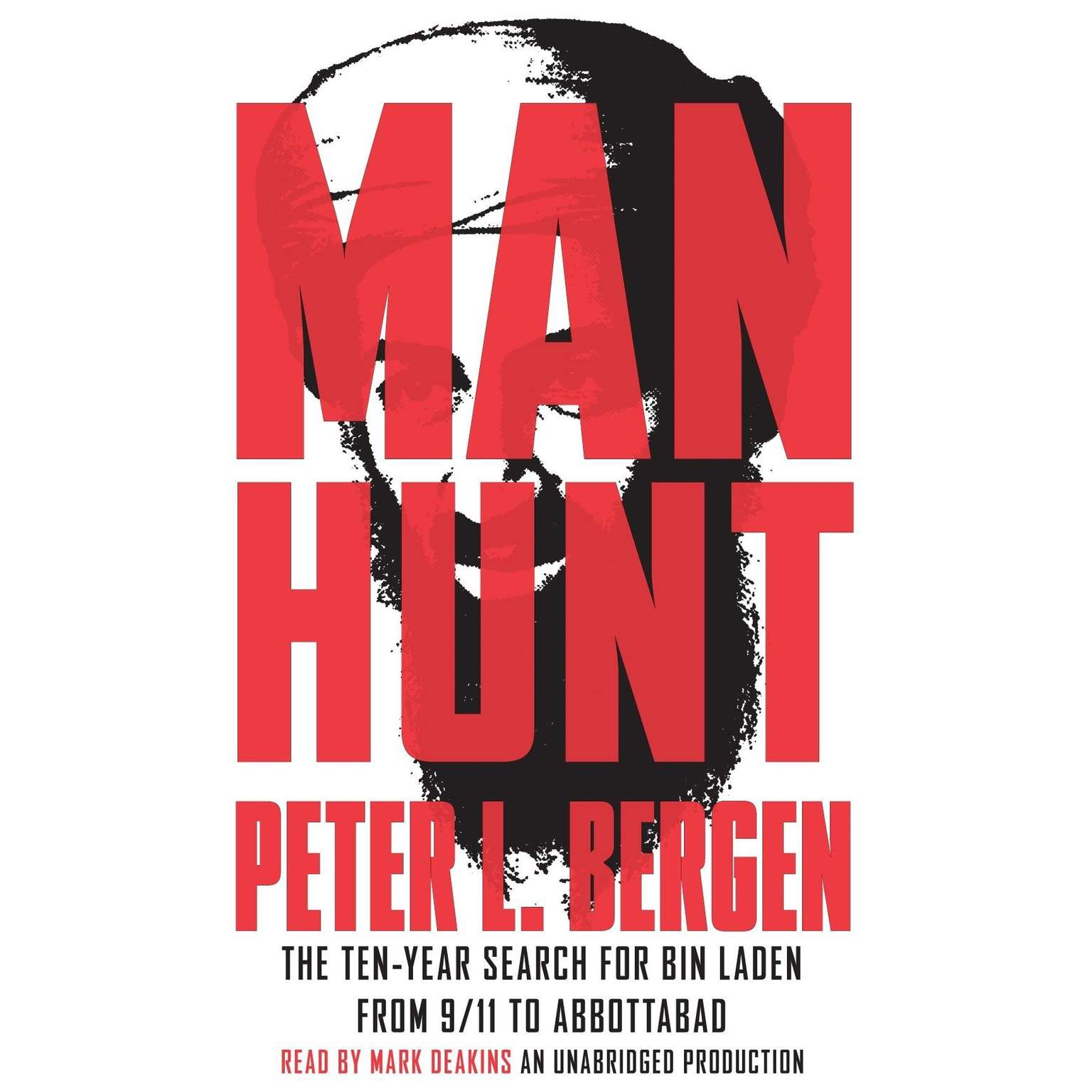 Printable Manhunt: The Ten-Year Search for Bin Laden--from 9/11 to Abbottabad Audiobook Cover Art