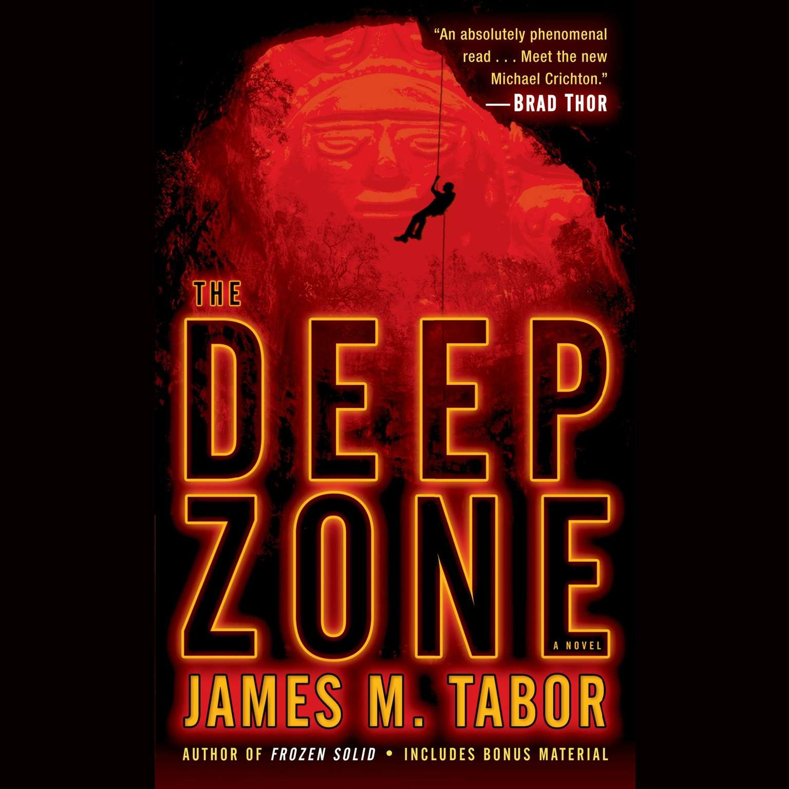Printable The Deep Zone: A Novel Audiobook Cover Art