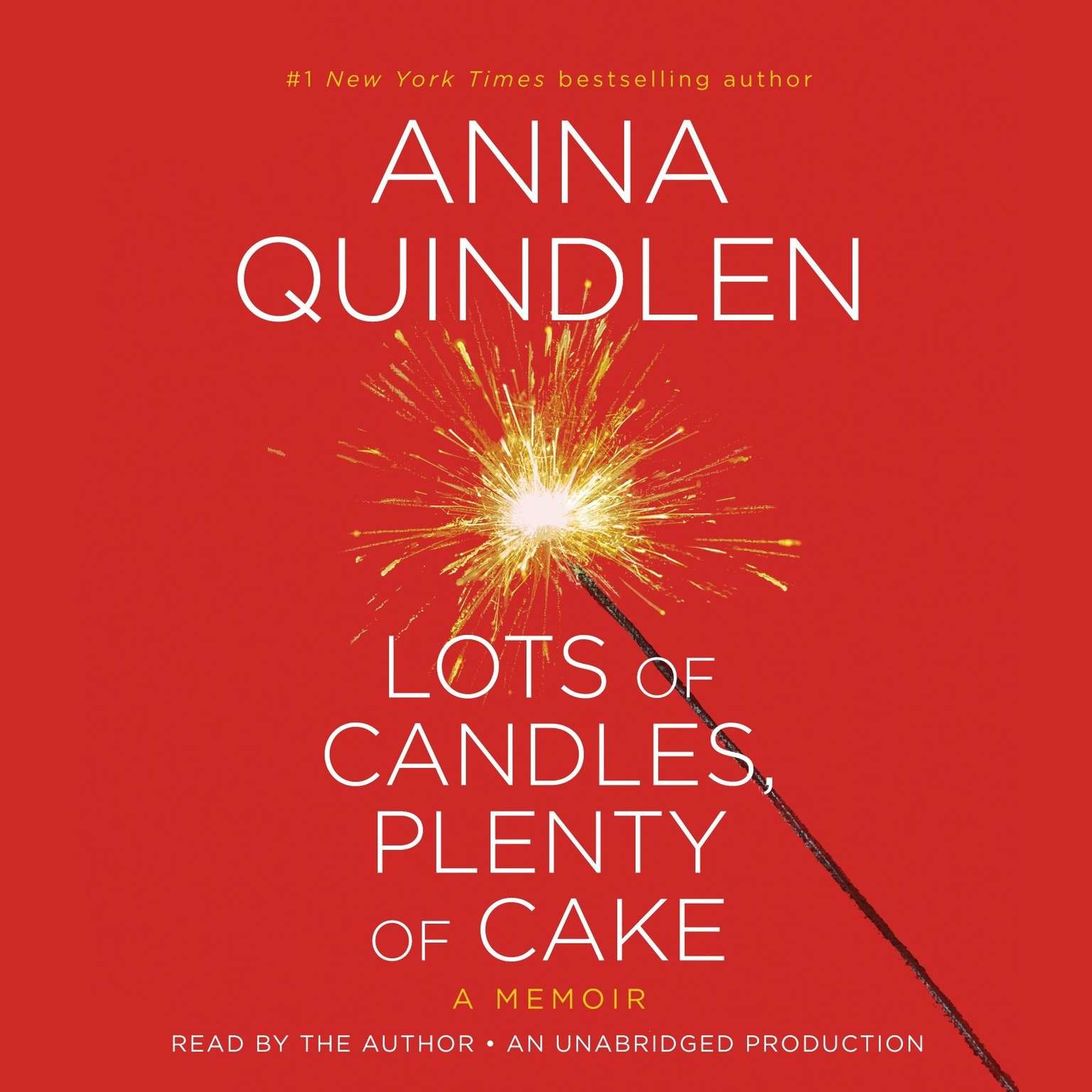 Printable Lots of Candles, Plenty of Cake: A Memoir of a Woman's Life Audiobook Cover Art