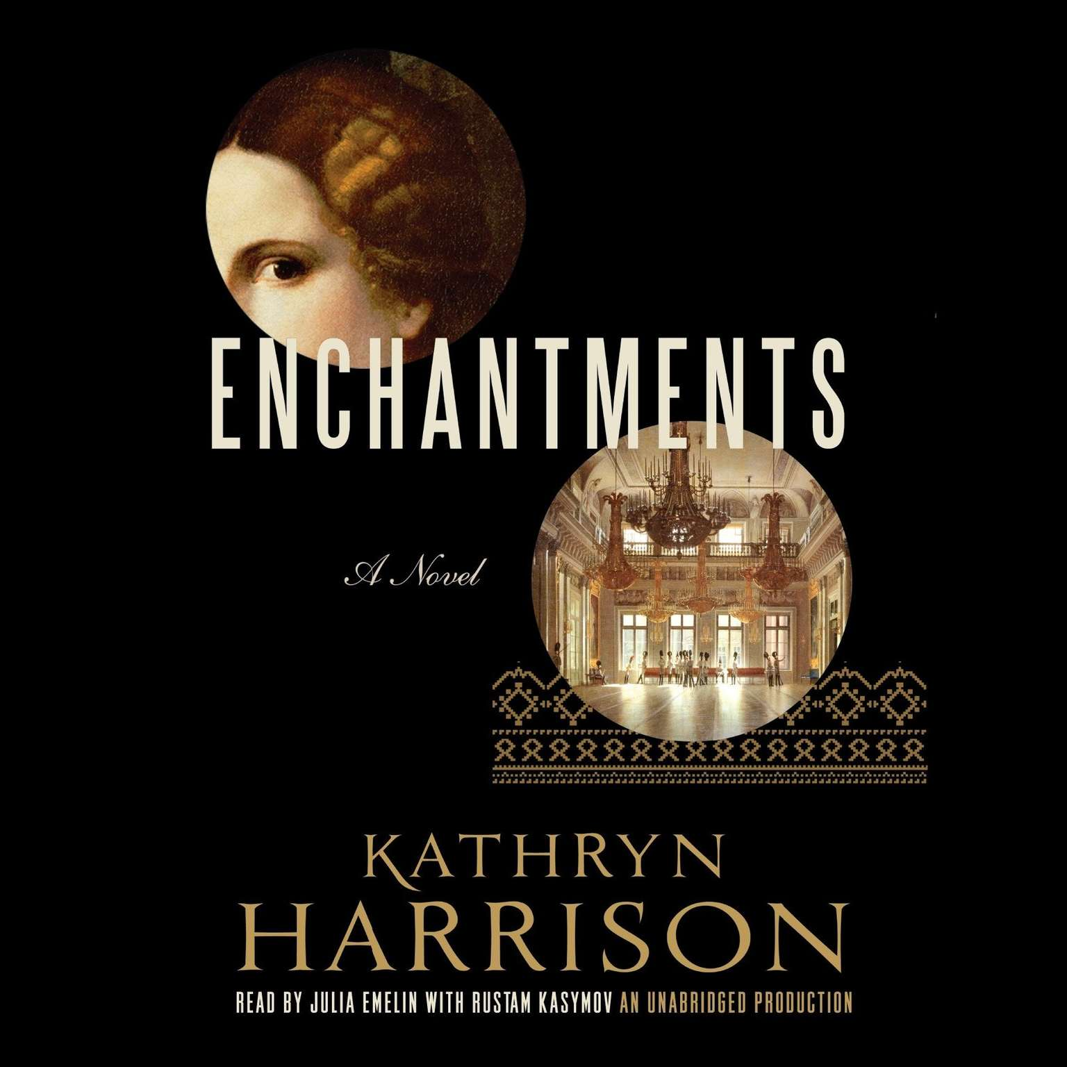 Printable Enchantments: A novel of Rasputin's daughter and the Romanovs Audiobook Cover Art