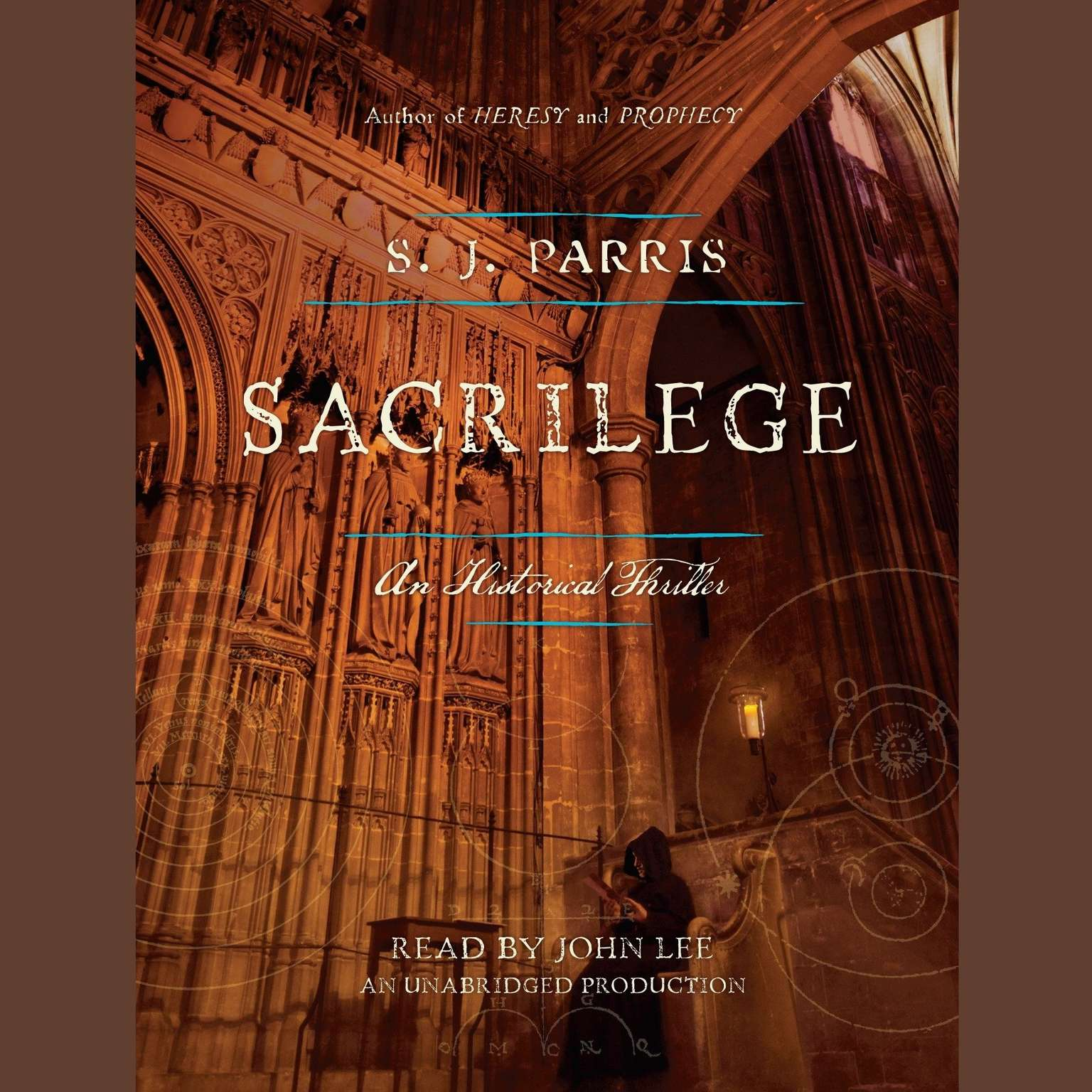 Printable Sacrilege: A Novel Audiobook Cover Art