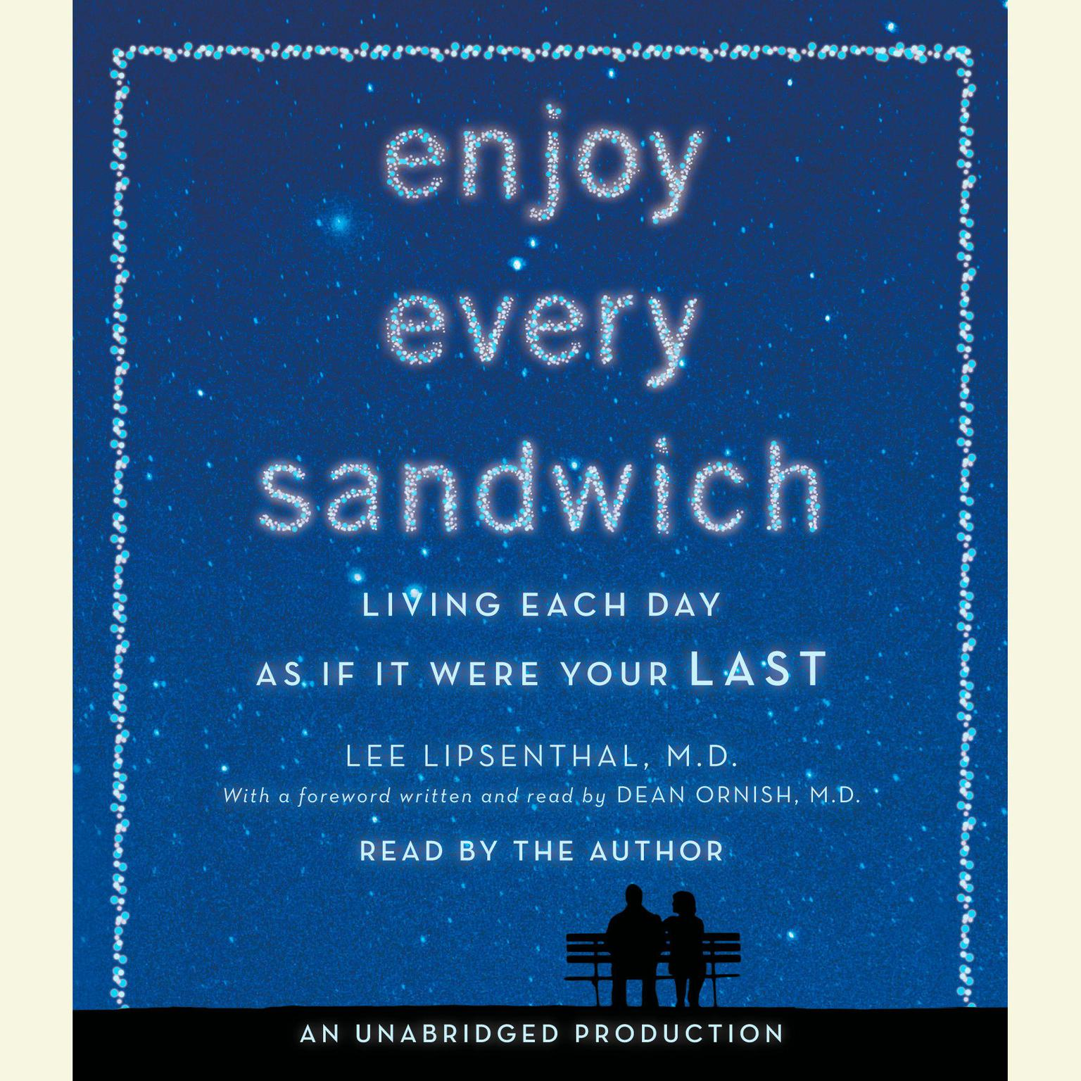 Printable Enjoy Every Sandwich: Living Each Day as If It Were Your Last Audiobook Cover Art