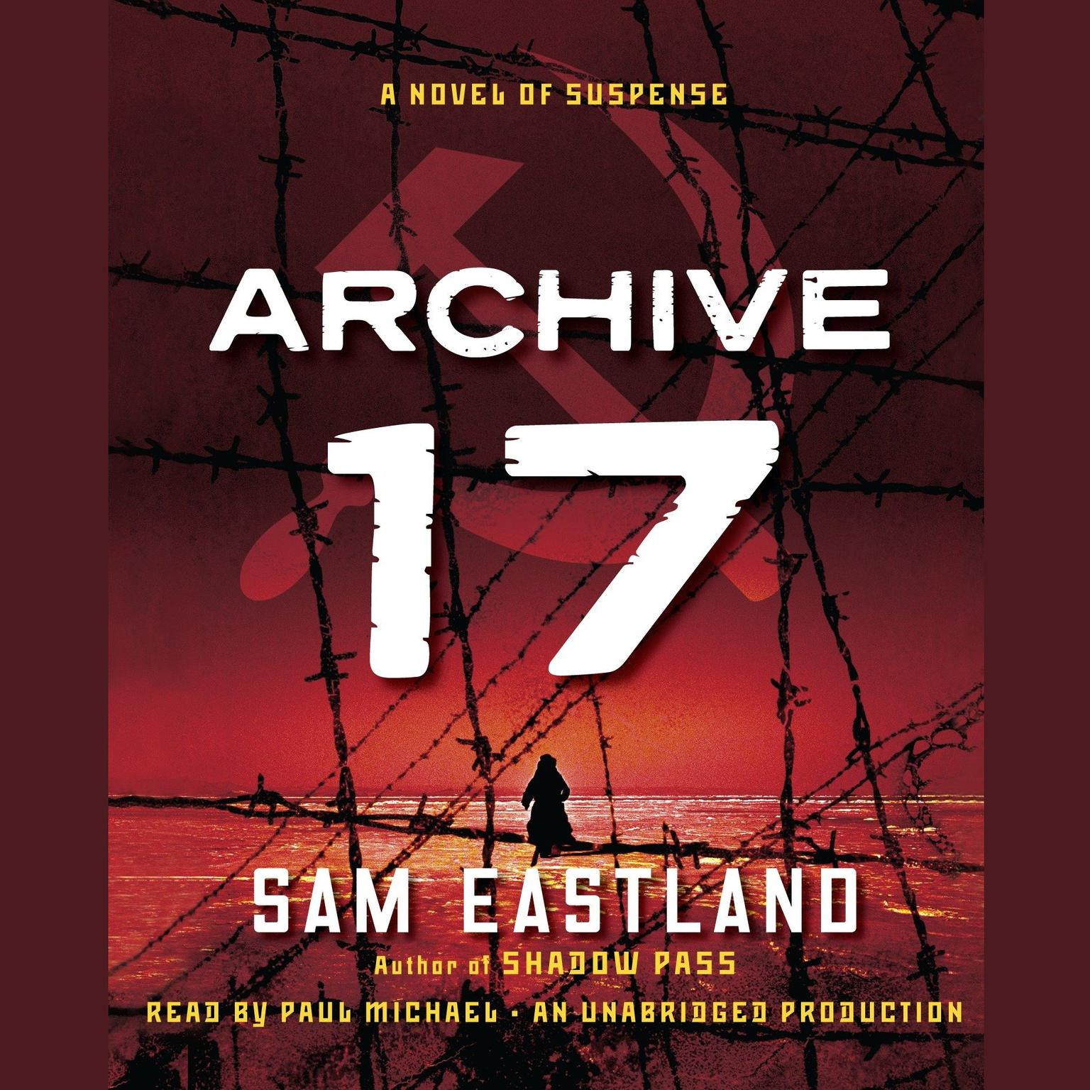 Printable Archive 17: A Novel of Suspense Audiobook Cover Art