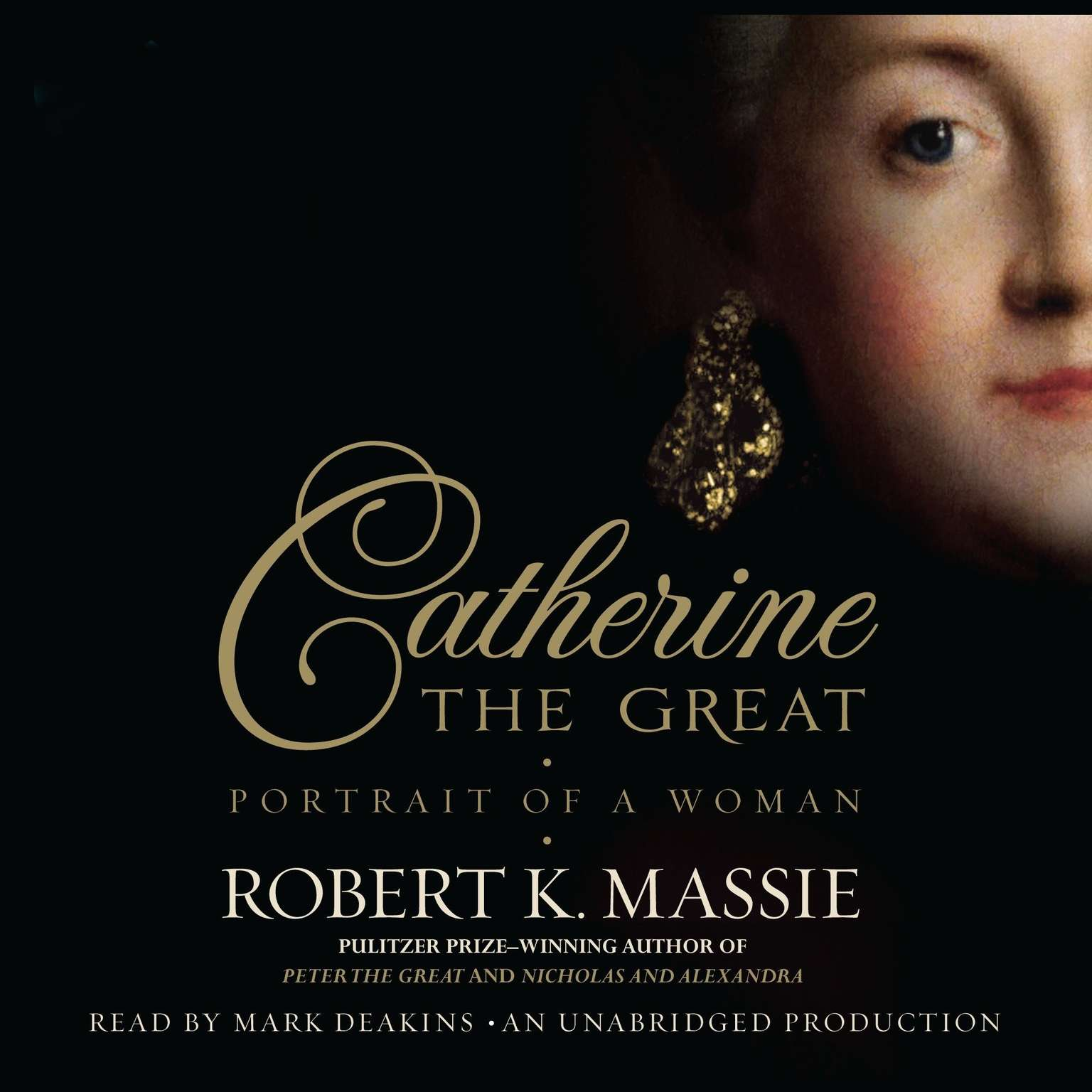 Printable Catherine the Great: Portrait of a Woman Audiobook Cover Art