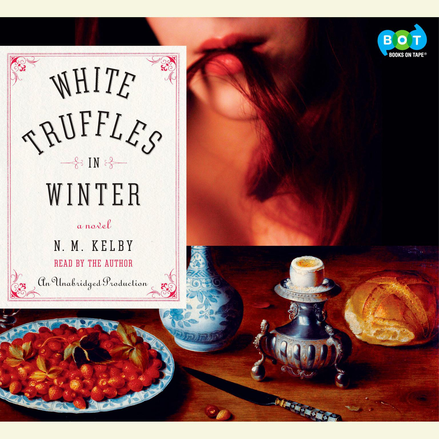 Printable White Truffles in Winter: A Novel Audiobook Cover Art