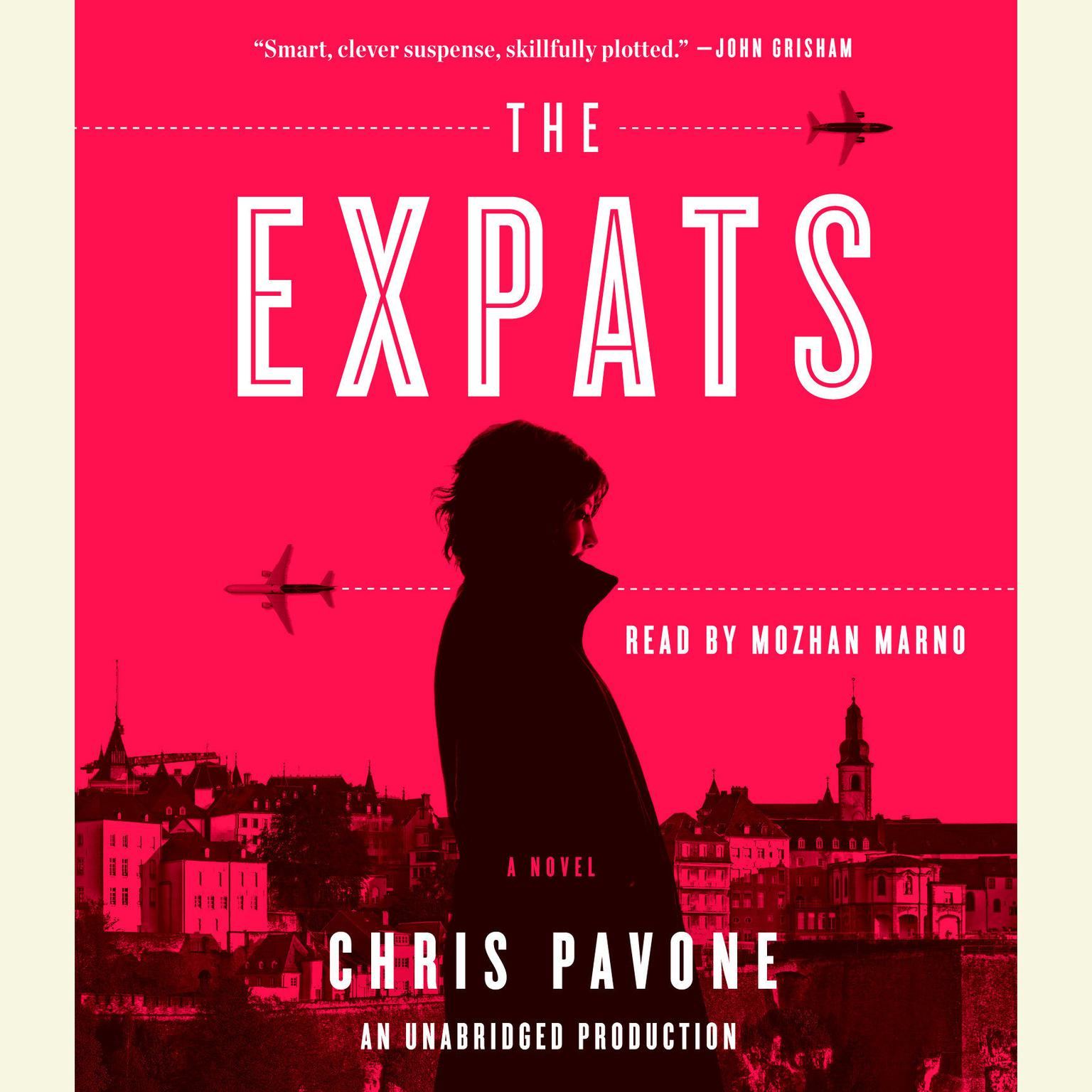 Printable The Expats: A Novel Audiobook Cover Art