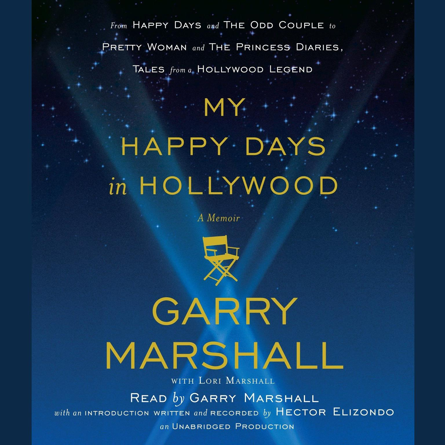 Printable My Happy Days in Hollywood: A Memoir Audiobook Cover Art