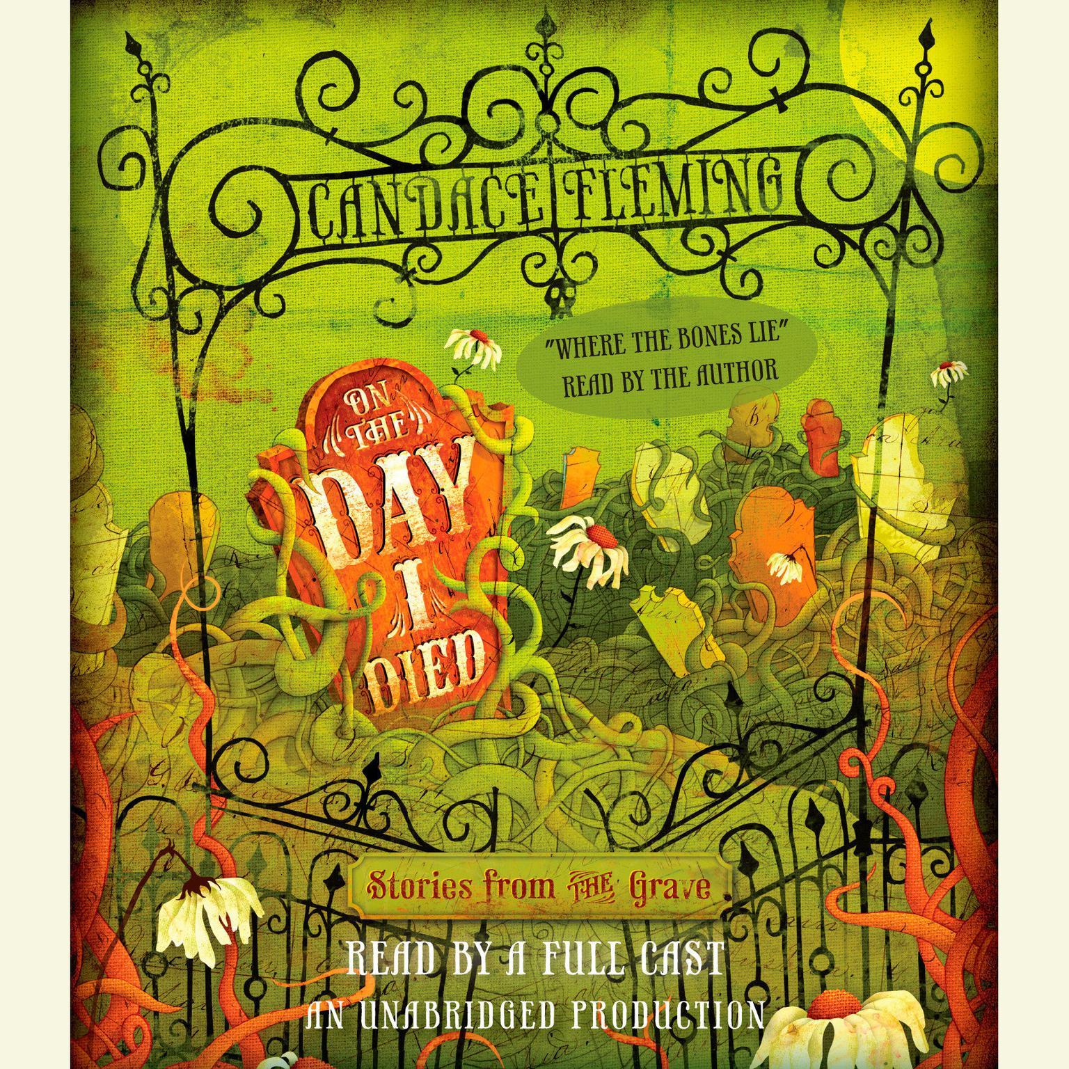 Printable On the Day I Died: Stories from the Grave Audiobook Cover Art