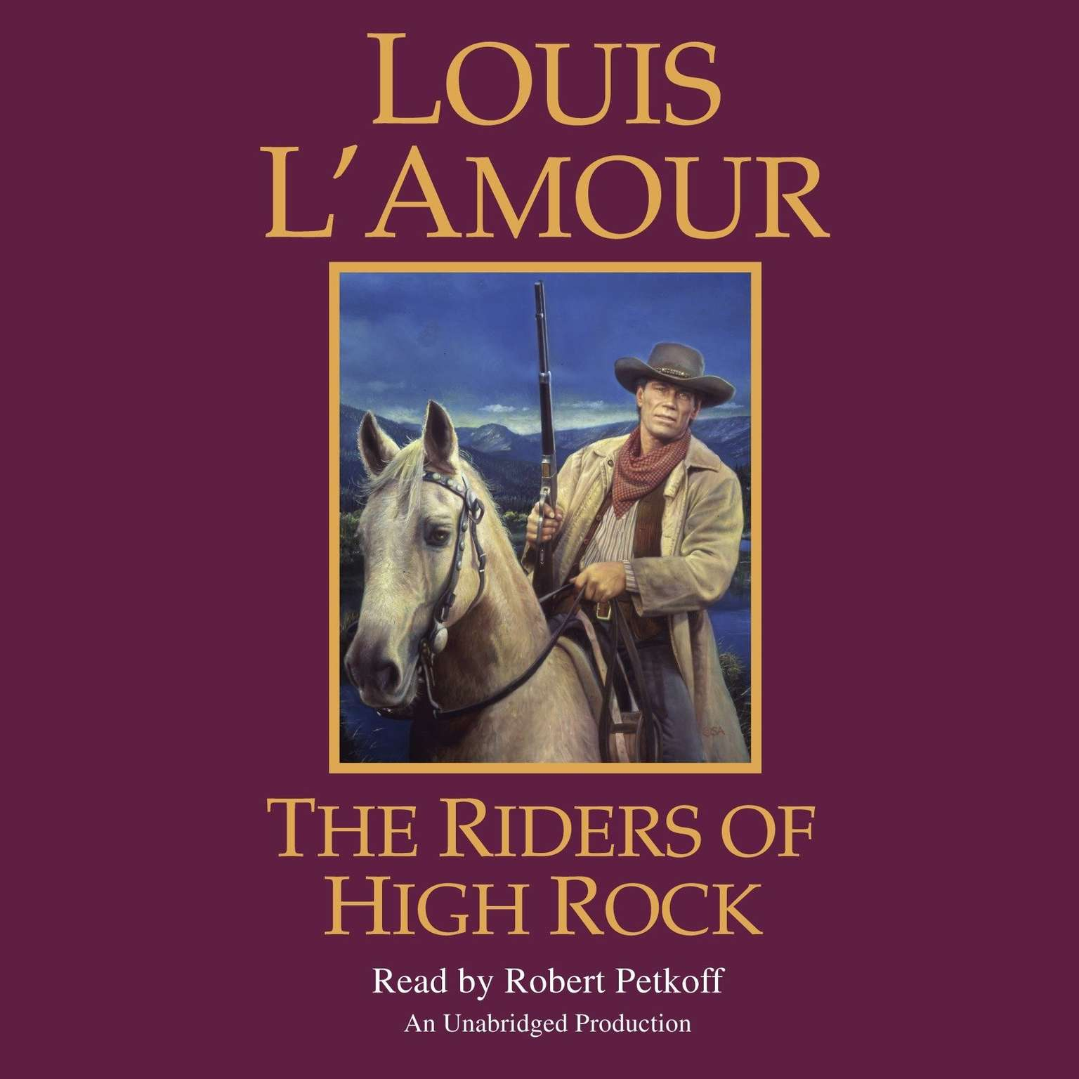 Printable The Riders of High Rock Audiobook Cover Art