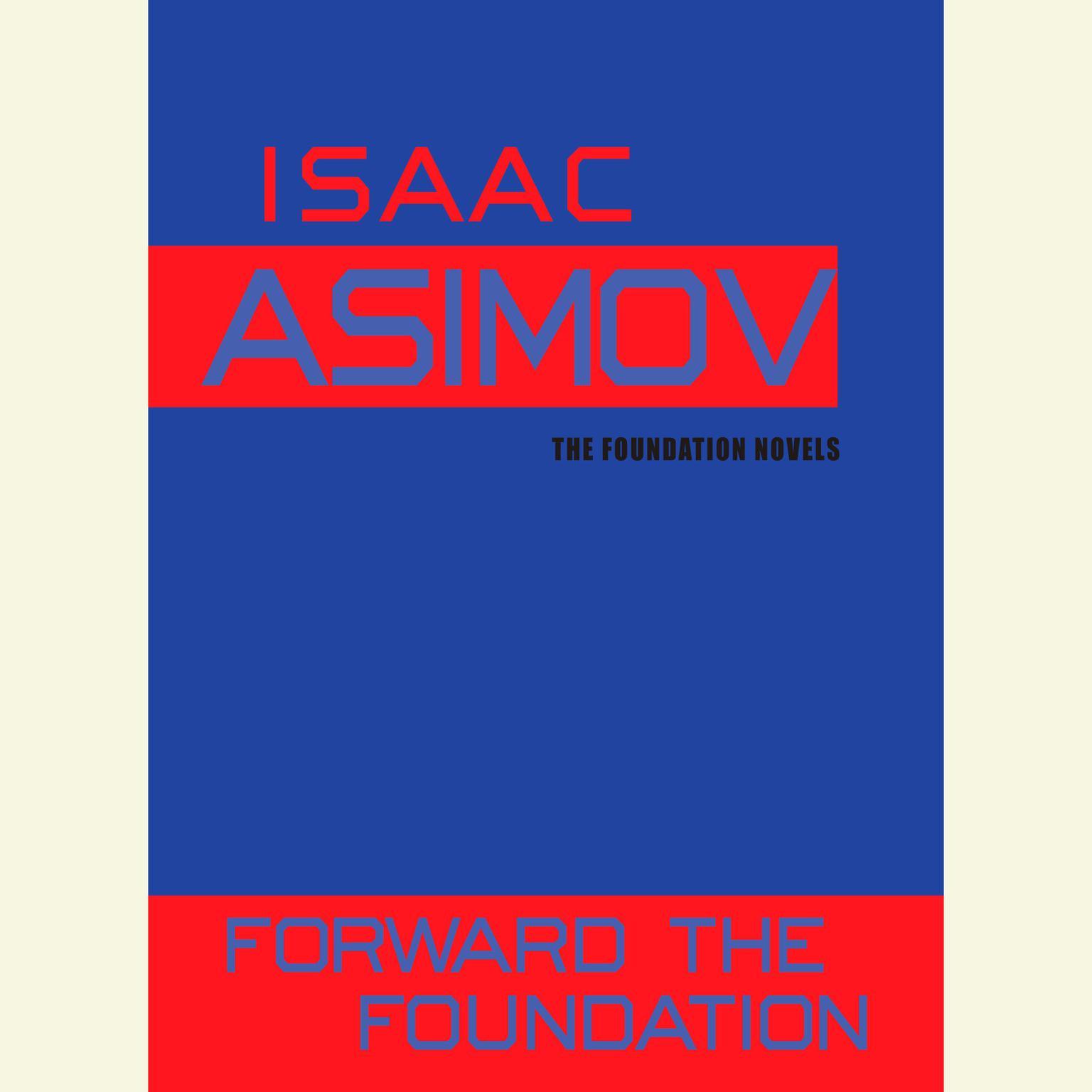 Printable Forward the Foundation Audiobook Cover Art