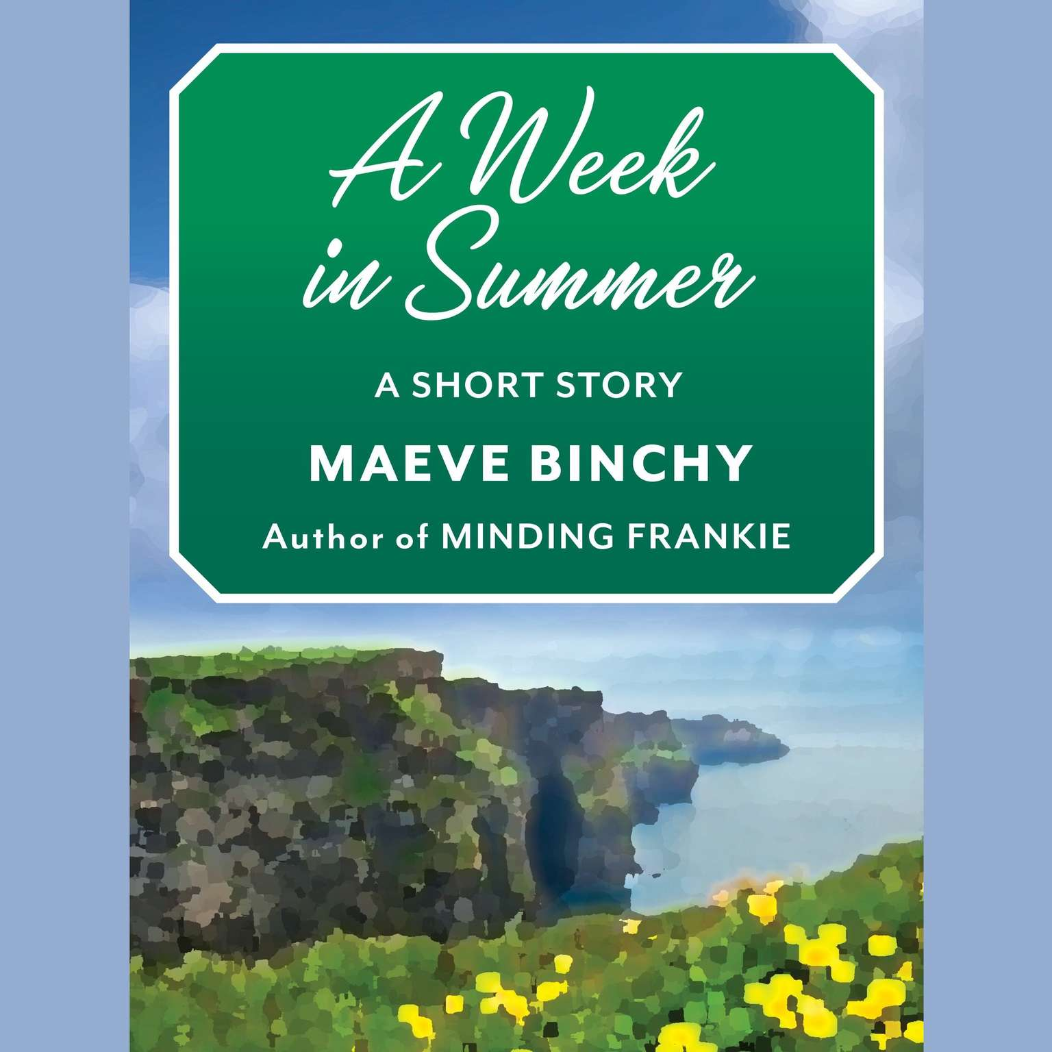 Printable A Week in Summer: A Short Story Audiobook Cover Art