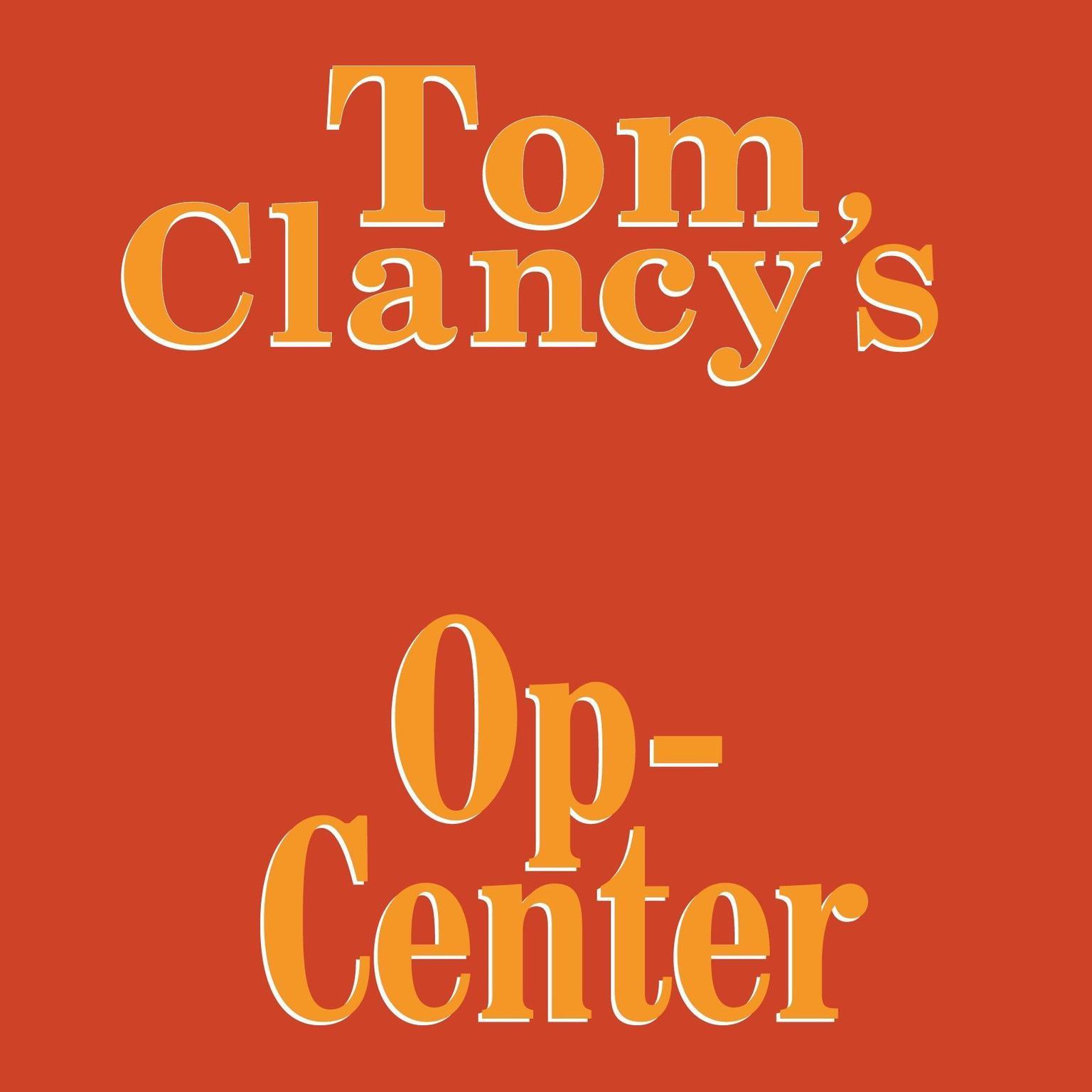 Printable Op-Center Audiobook Cover Art