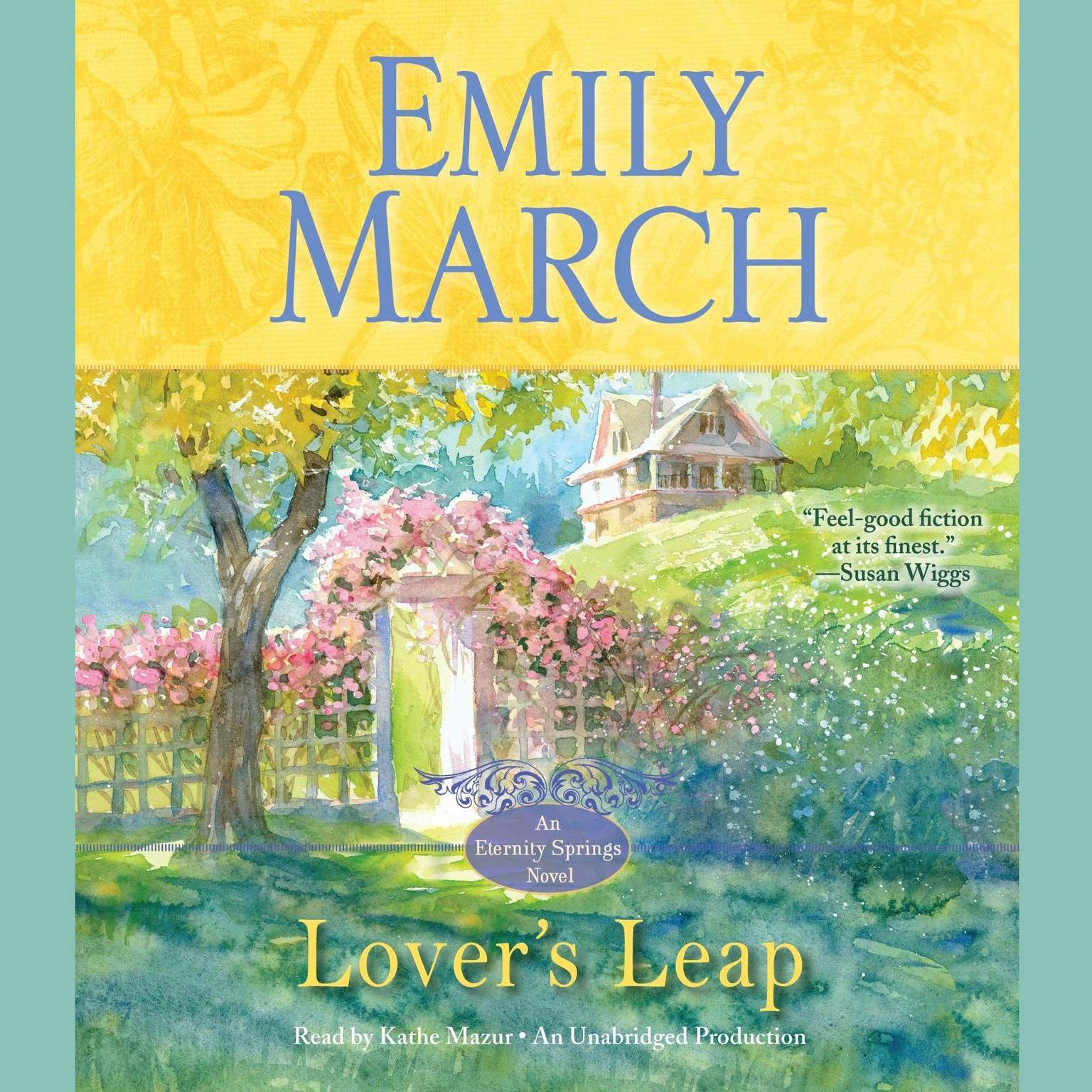 Printable Lover's Leap: An Eternity Springs Novel Audiobook Cover Art